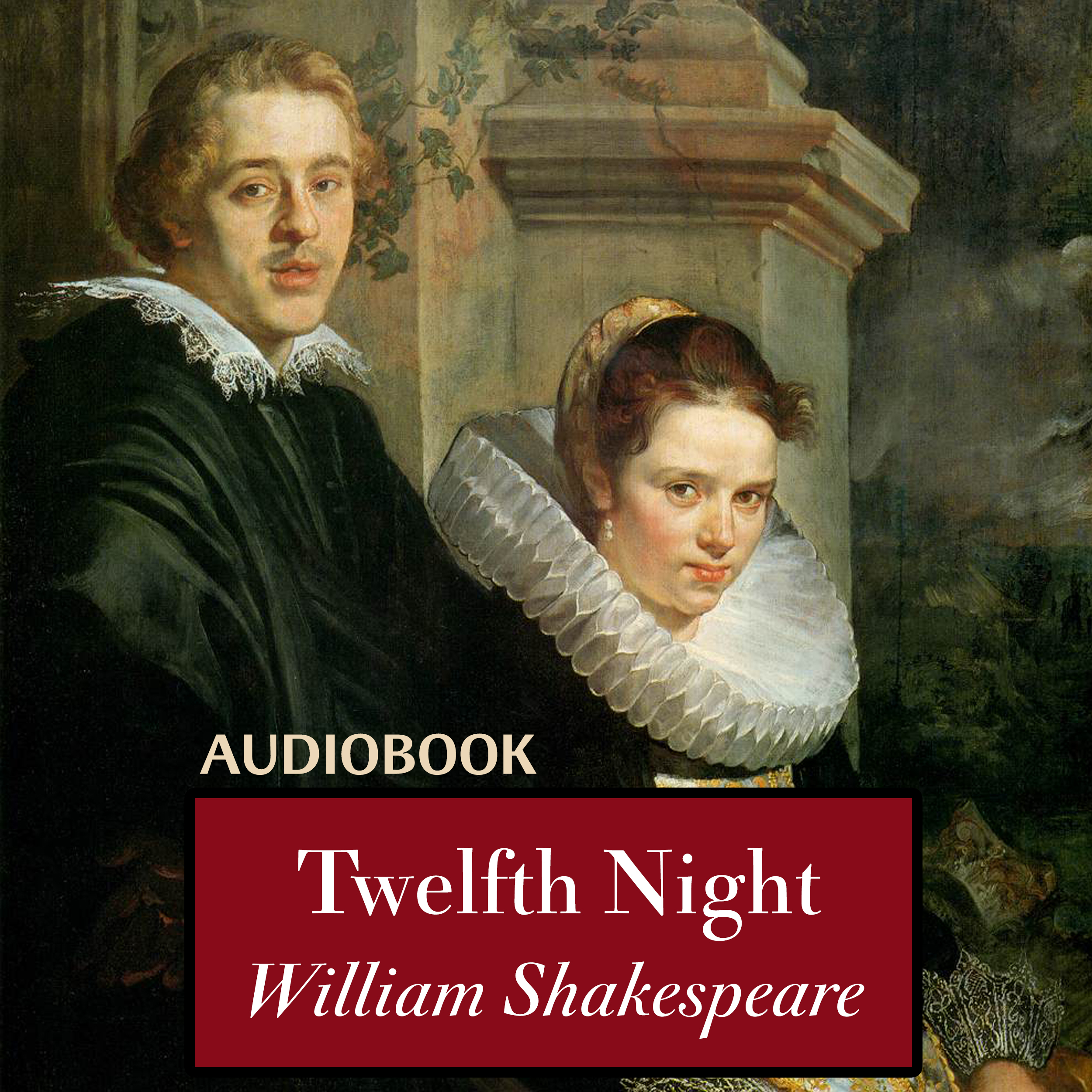 Printable Twelfth Night Audiobook Cover Art
