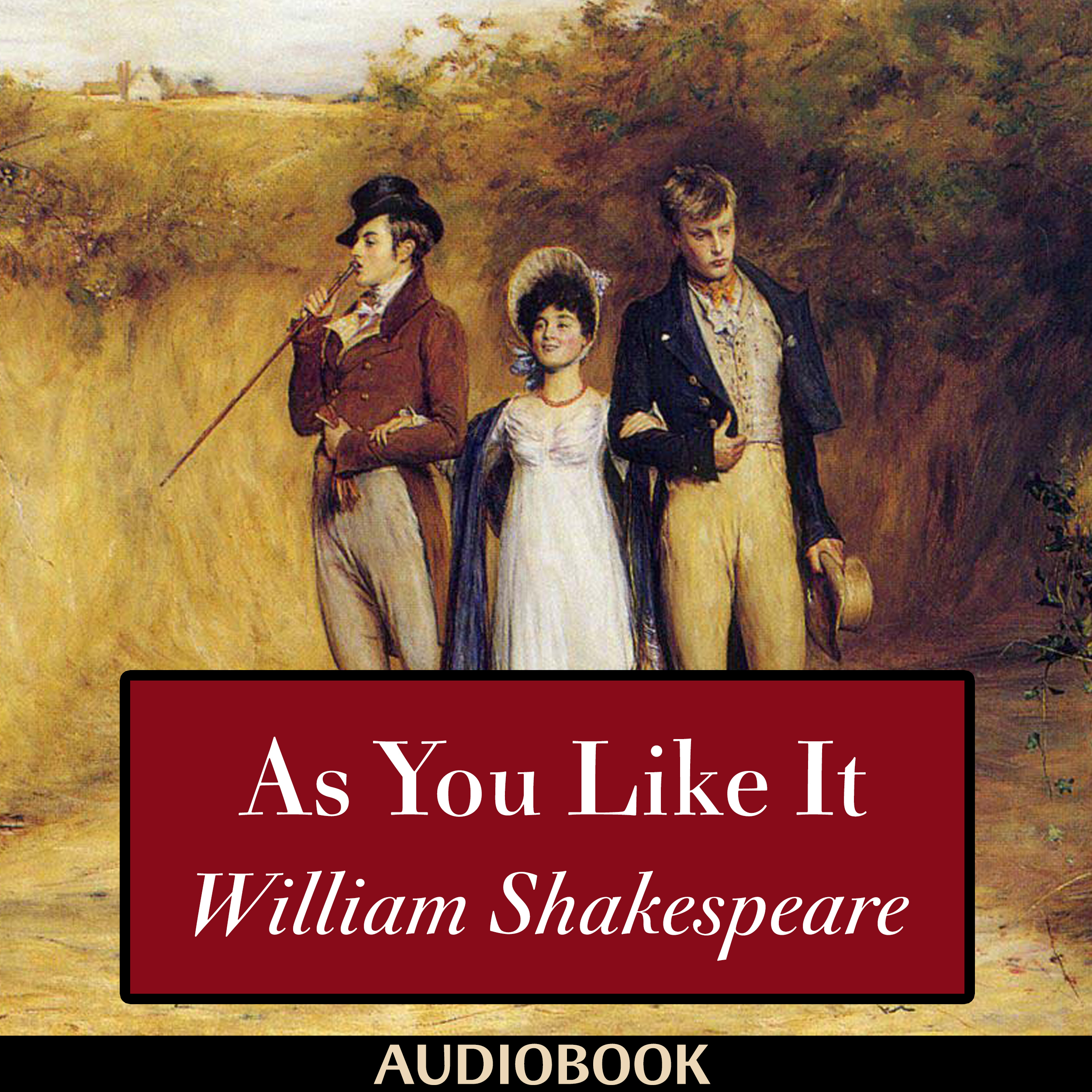 Printable As You Like It Audiobook Cover Art