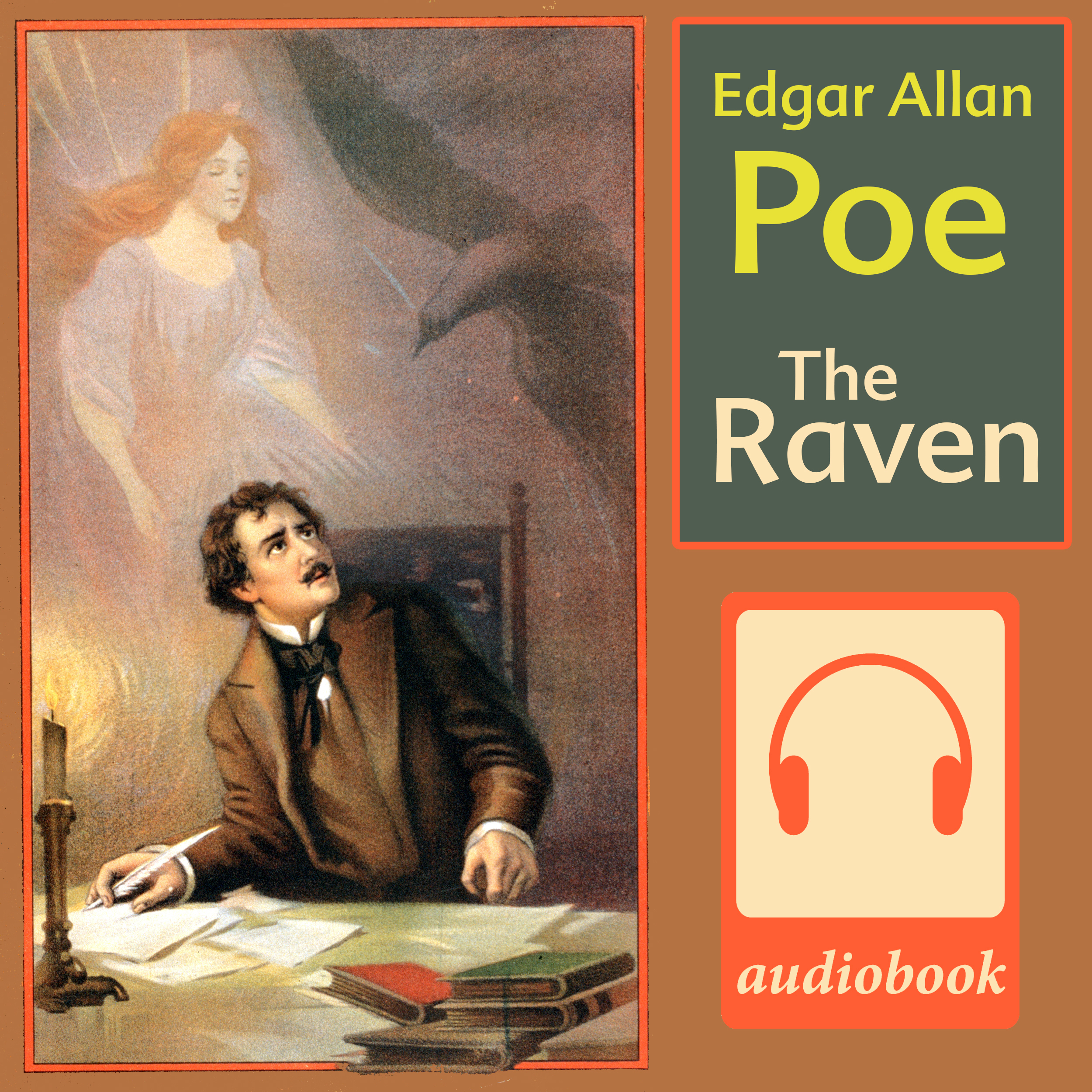 Printable The Raven Audiobook Cover Art