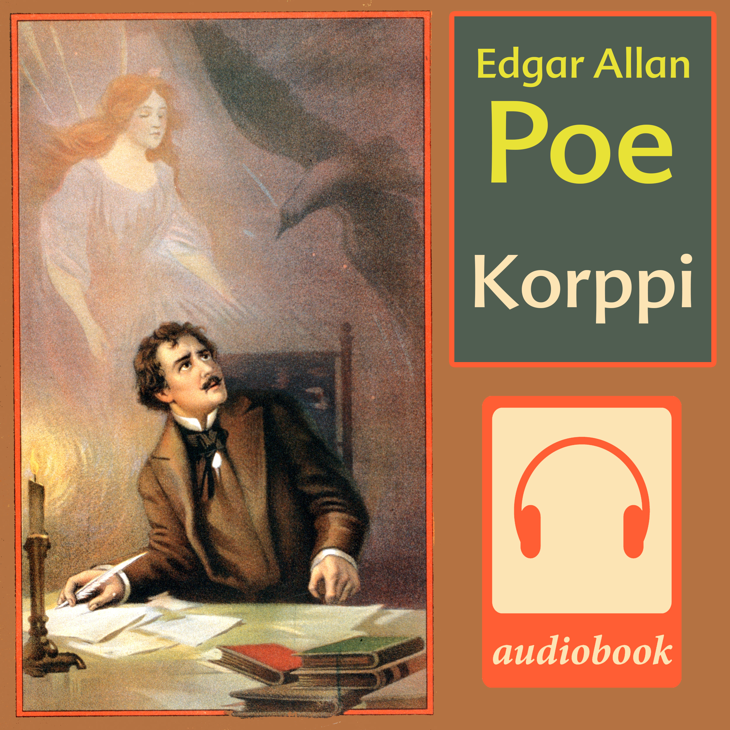 Printable Korppi Audiobook Cover Art