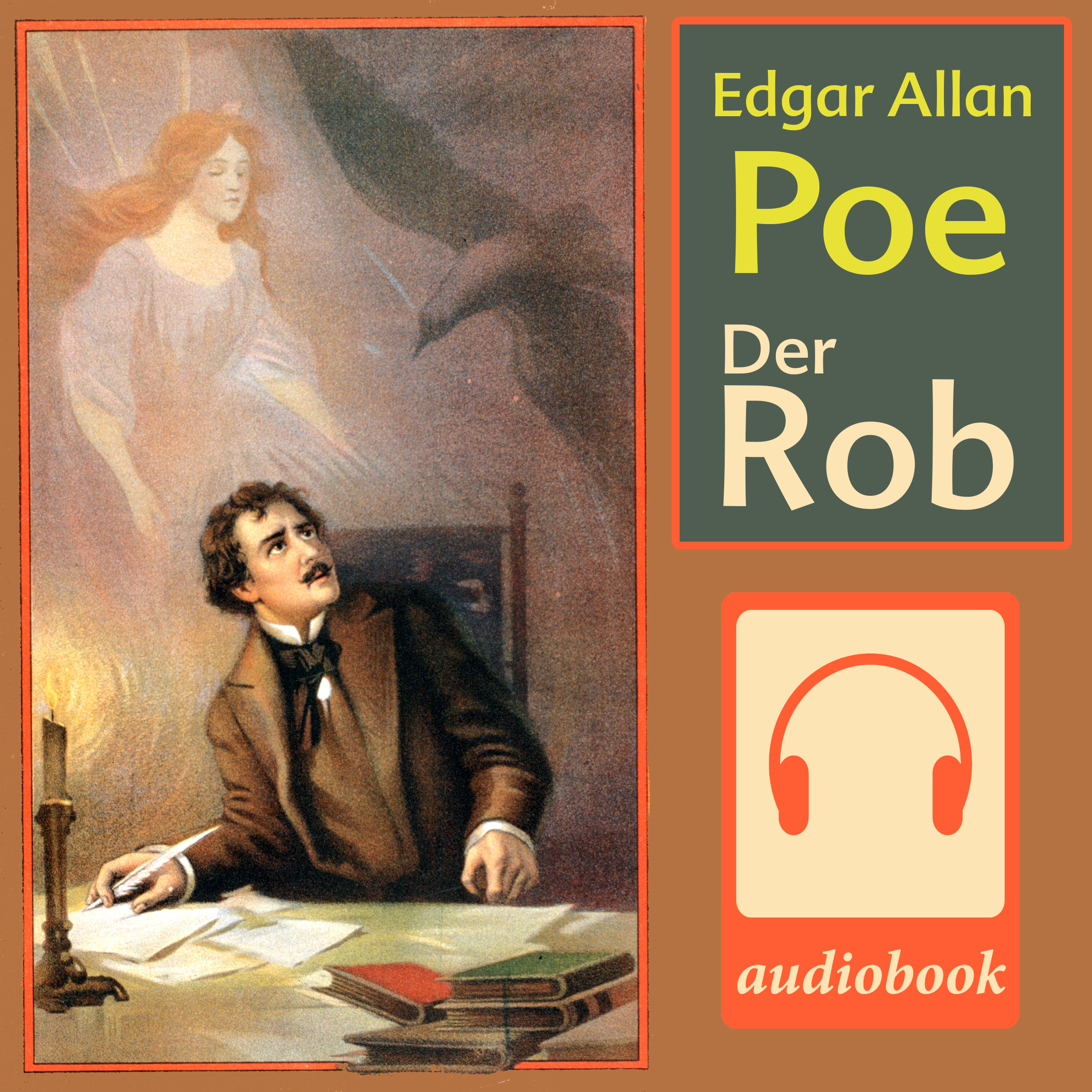 Printable Der Rob Audiobook Cover Art