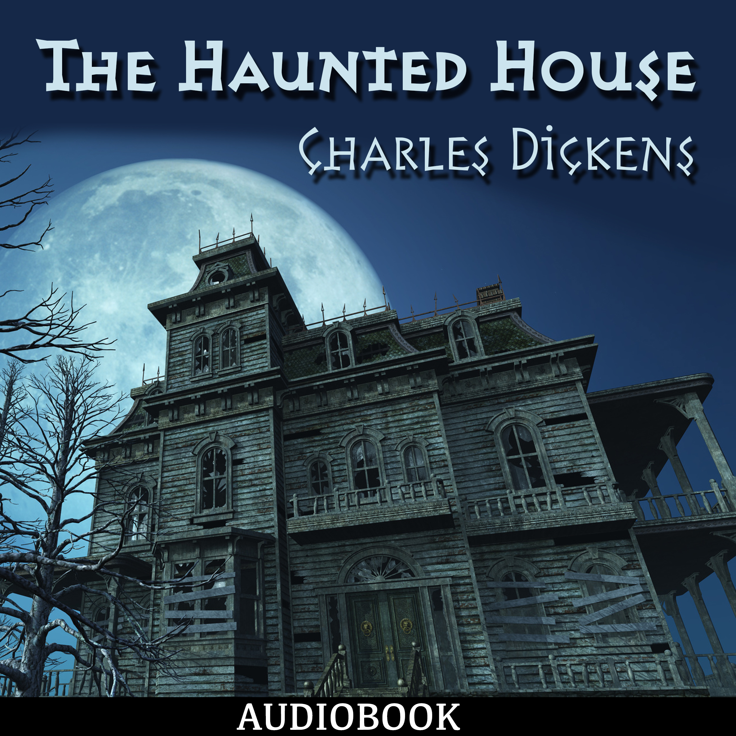 Printable The Haunted House Audiobook Cover Art