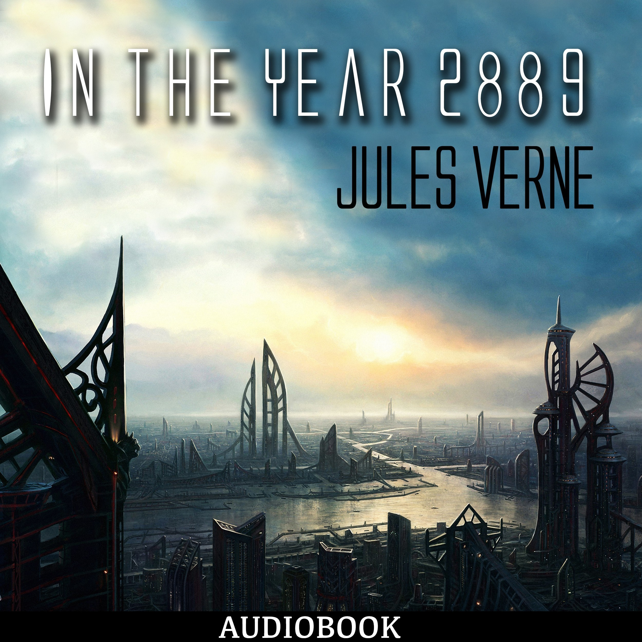 Printable In the Year 2889 Audiobook Cover Art