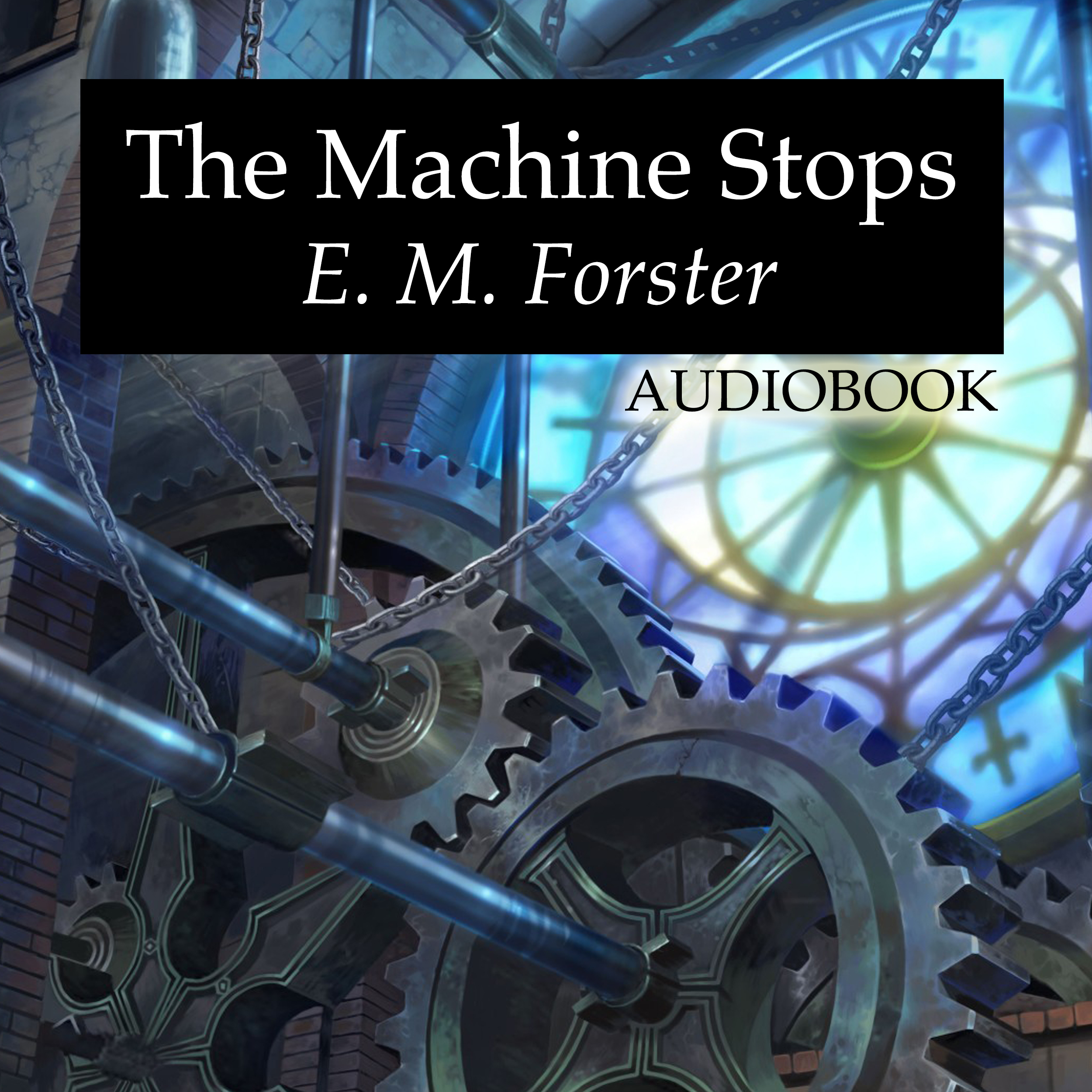 Printable The Machine Stops Audiobook Cover Art
