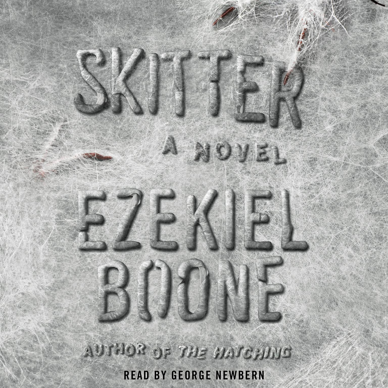 Printable Skitter: A Novel Audiobook Cover Art