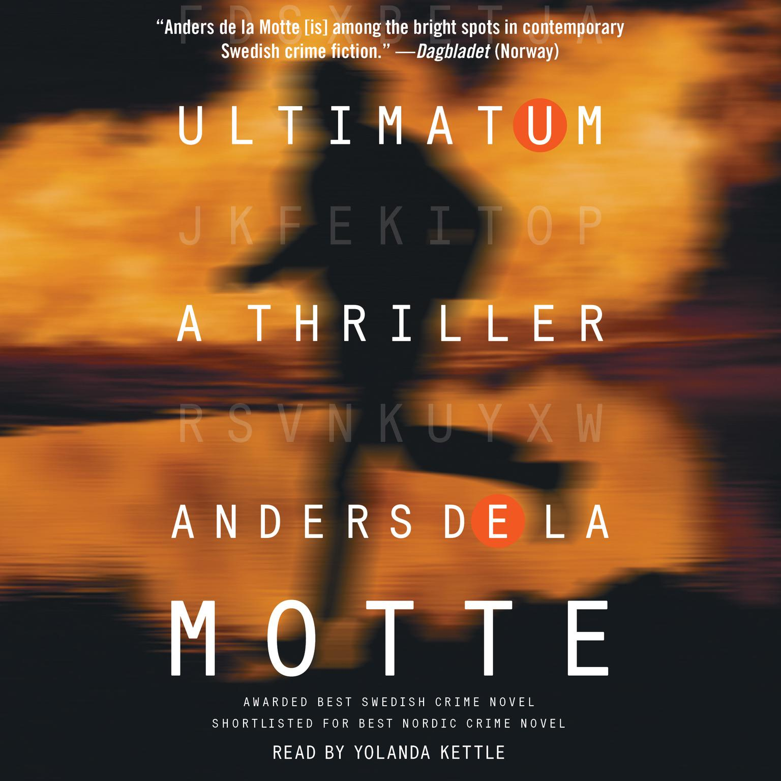 Printable Ultimatum: A Thriller Audiobook Cover Art