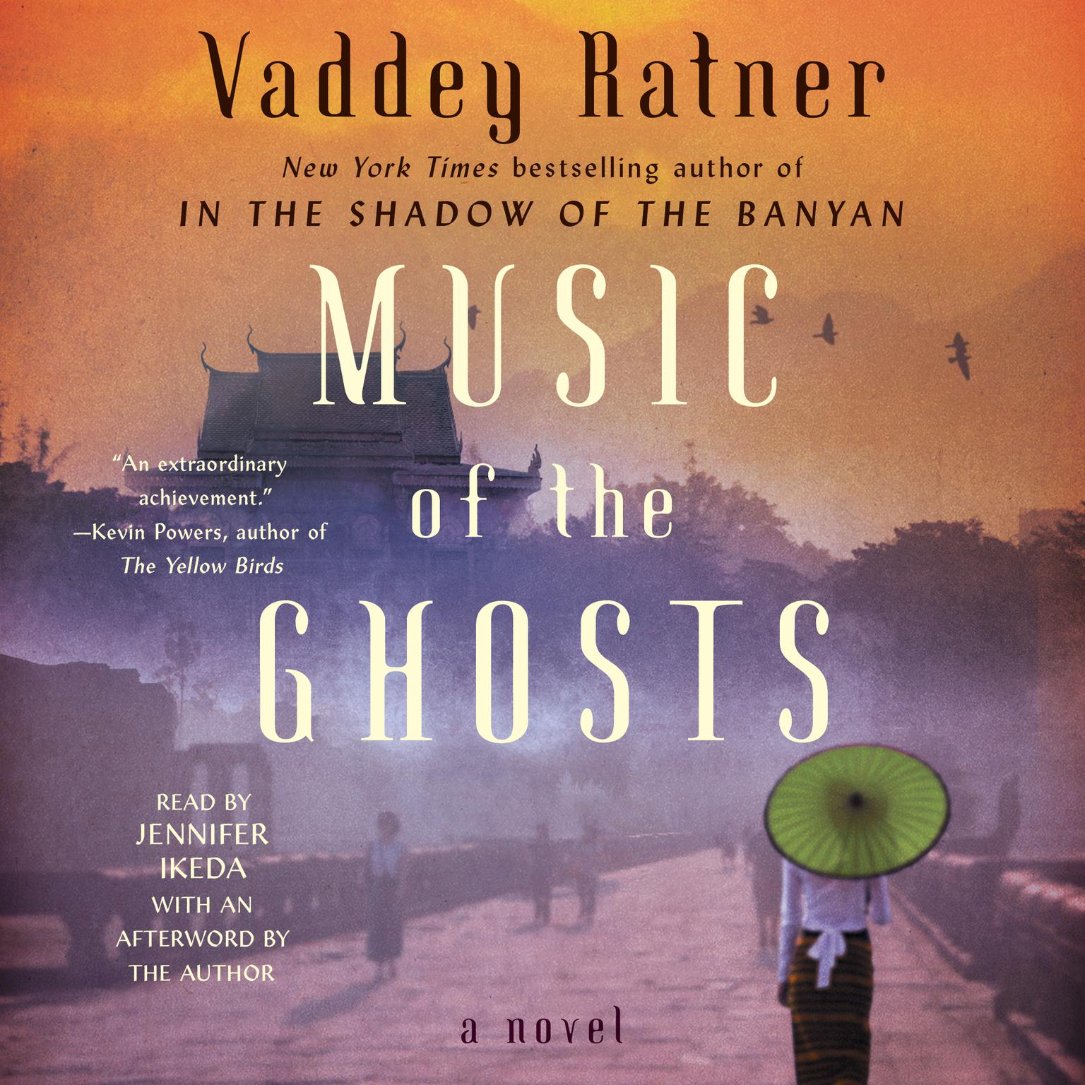 Printable Music of the Ghosts Audiobook Cover Art