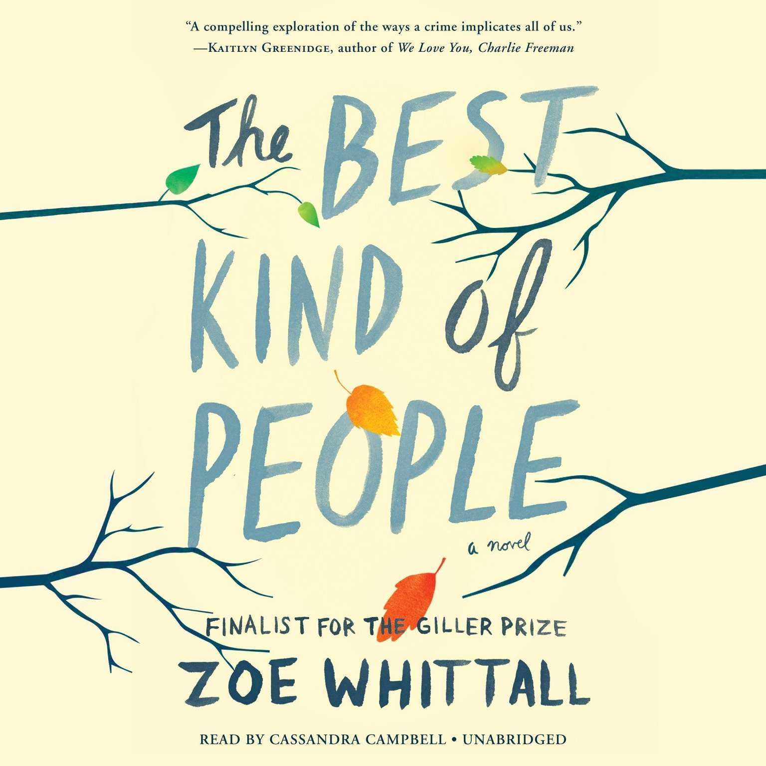 Printable The Best Kind of People: A Novel Audiobook Cover Art
