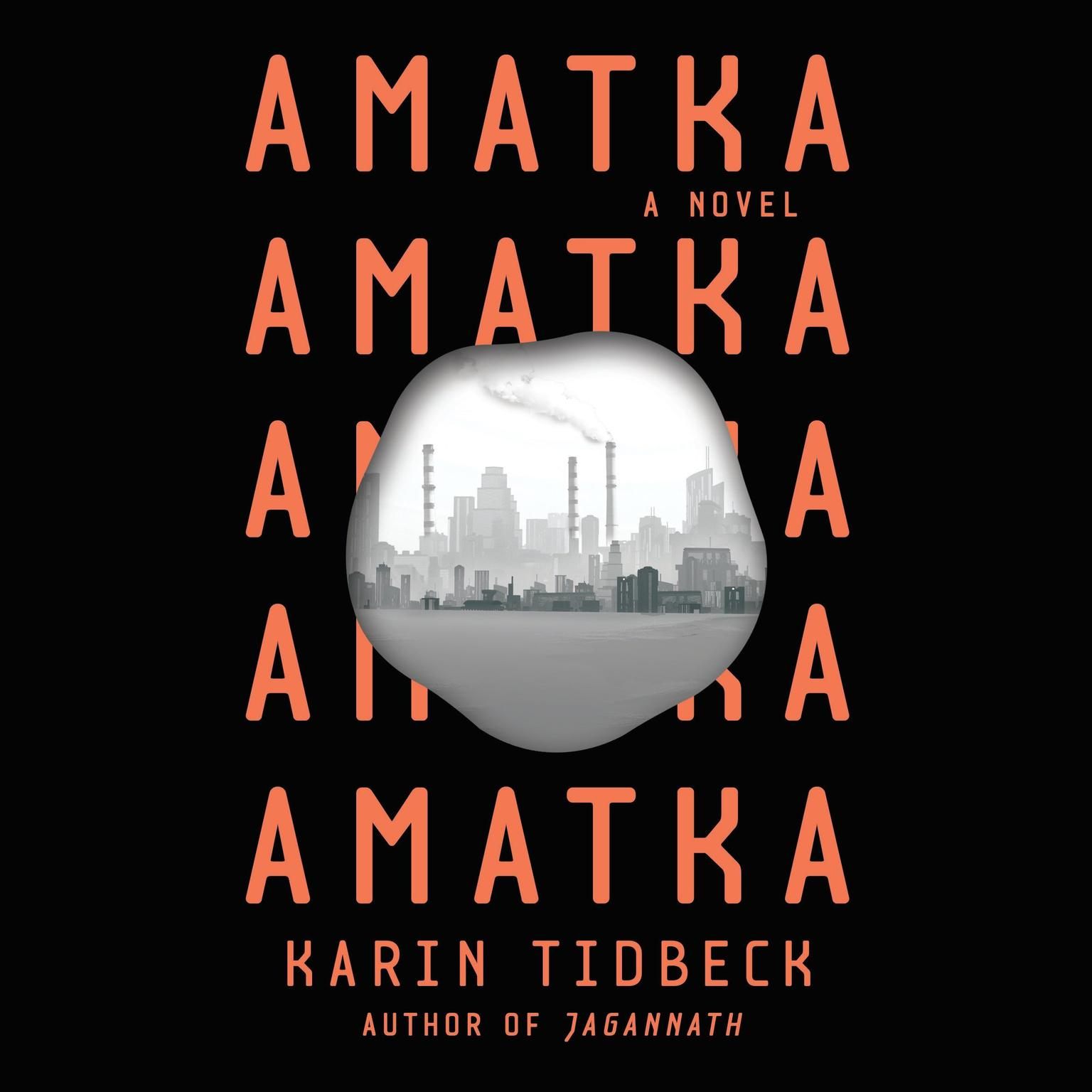 Printable Amatka Audiobook Cover Art
