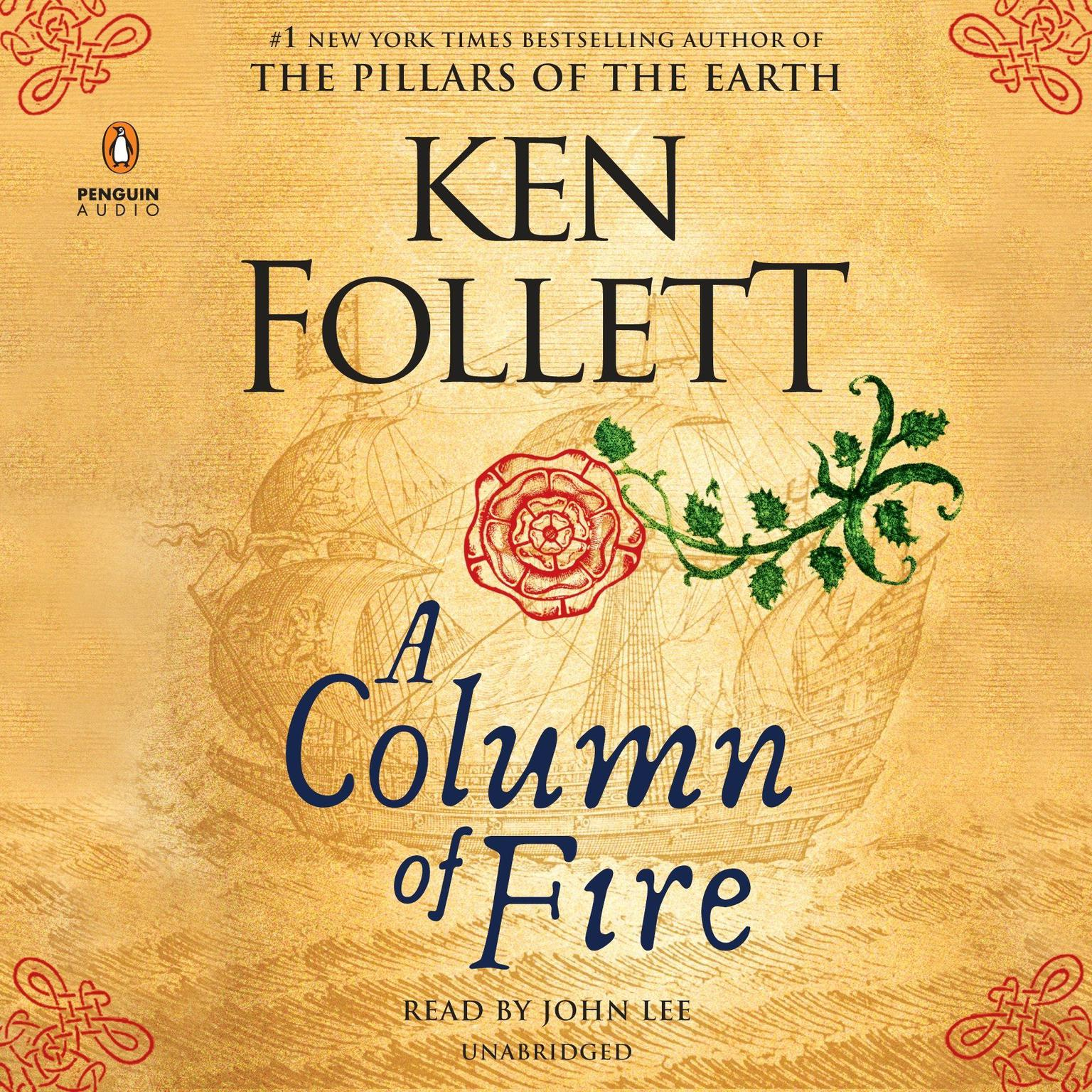 Printable A Column of Fire Audiobook Cover Art
