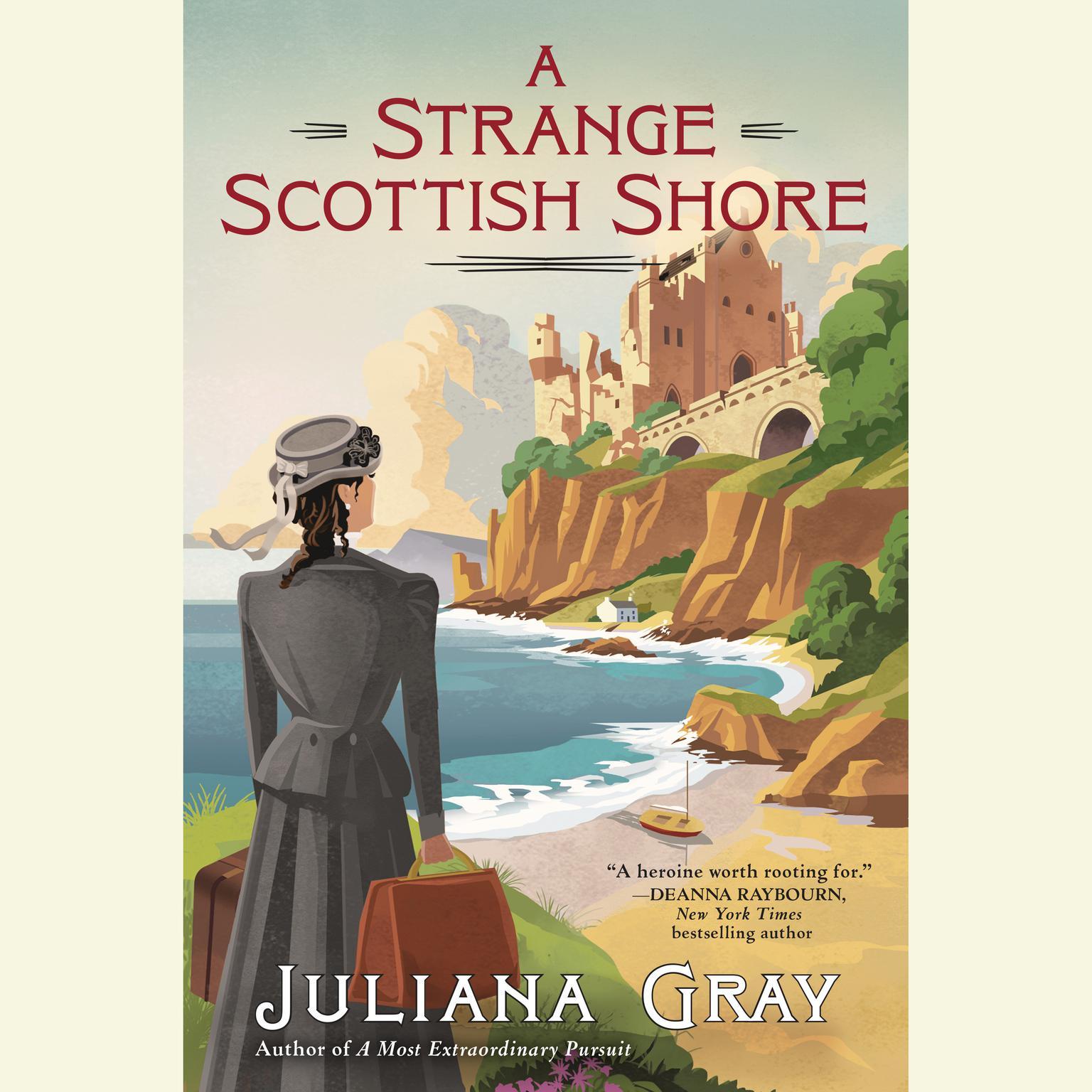 Printable A Strange Scottish Shore Audiobook Cover Art