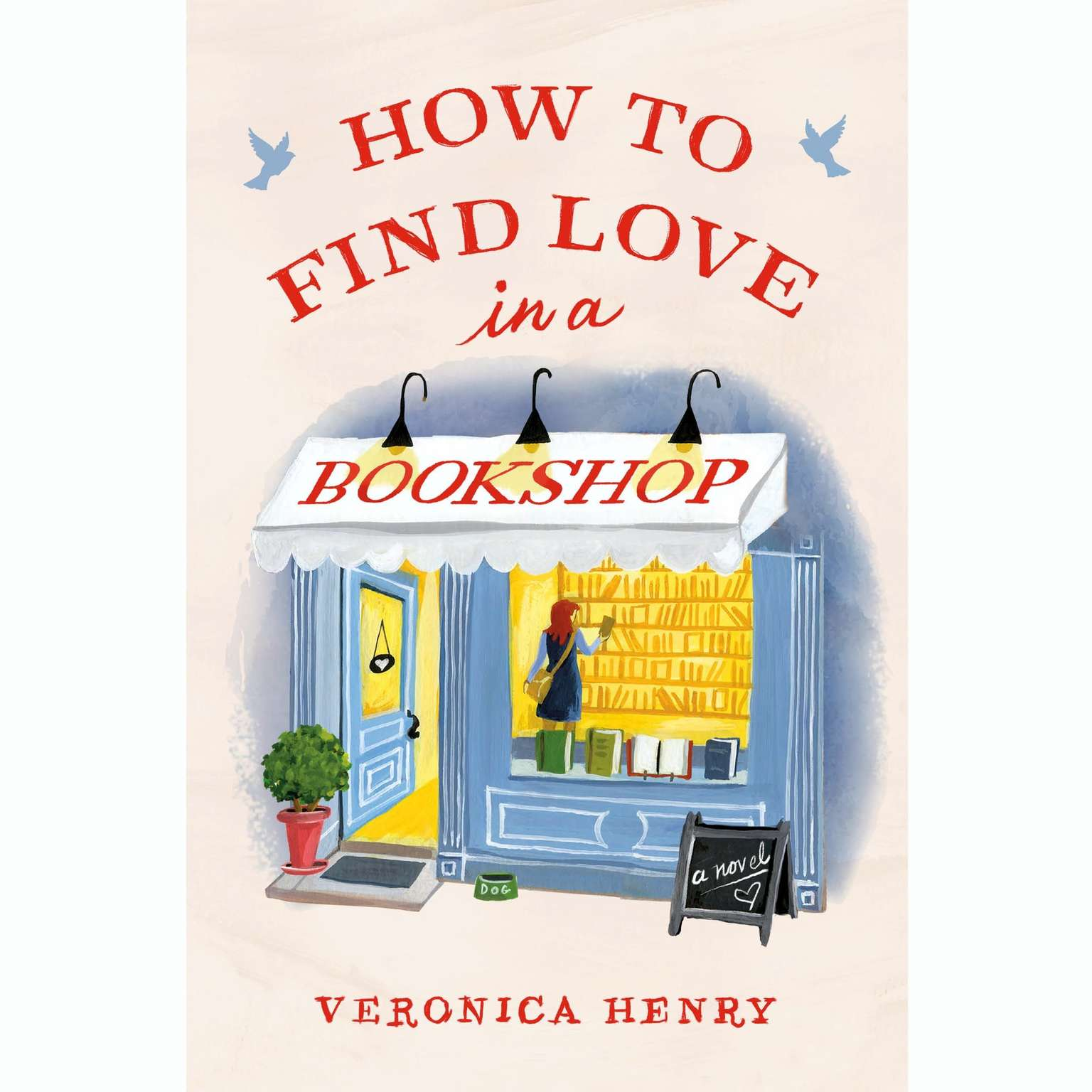 Printable How to Find Love in a Bookshop Audiobook Cover Art