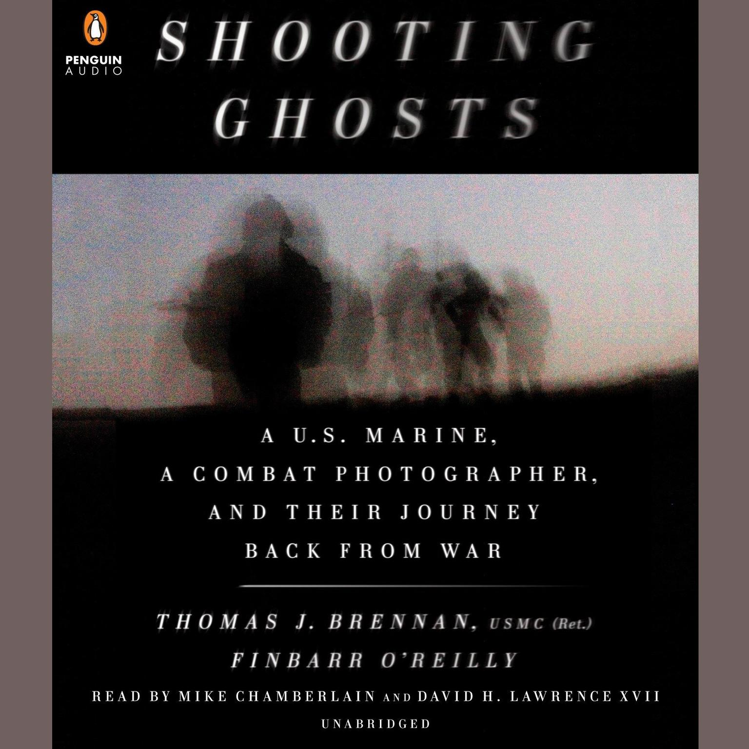 Printable Shooting Ghosts: A U.S. Marine, a Combat Photographer, and Their Journey Back from War Audiobook Cover Art