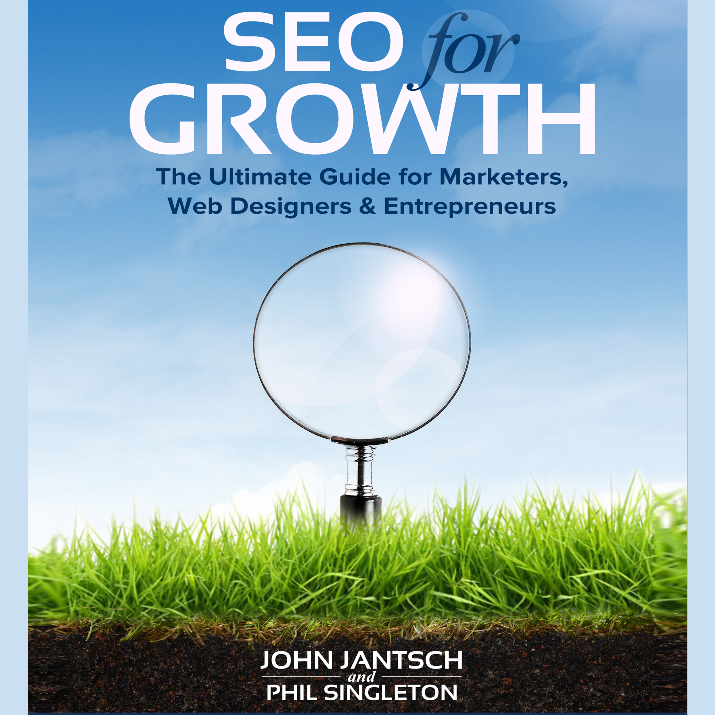 Printable SEO for Growth: The Ultimate Guide for Marketers, Web Designers & Entrepreneurs Audiobook Cover Art