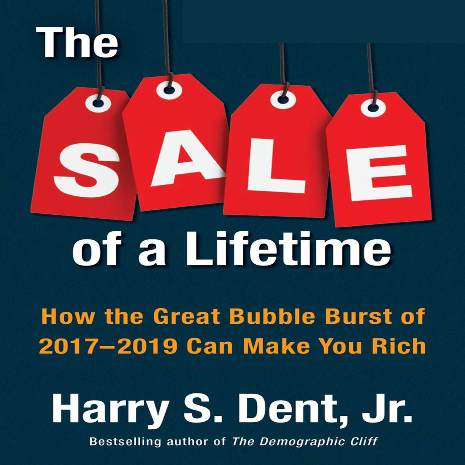 The Sale a Lifetime: How the Great Bubble Burst of 2017-2019 Can Make You Rich Audiobook, by Harry S. Dent