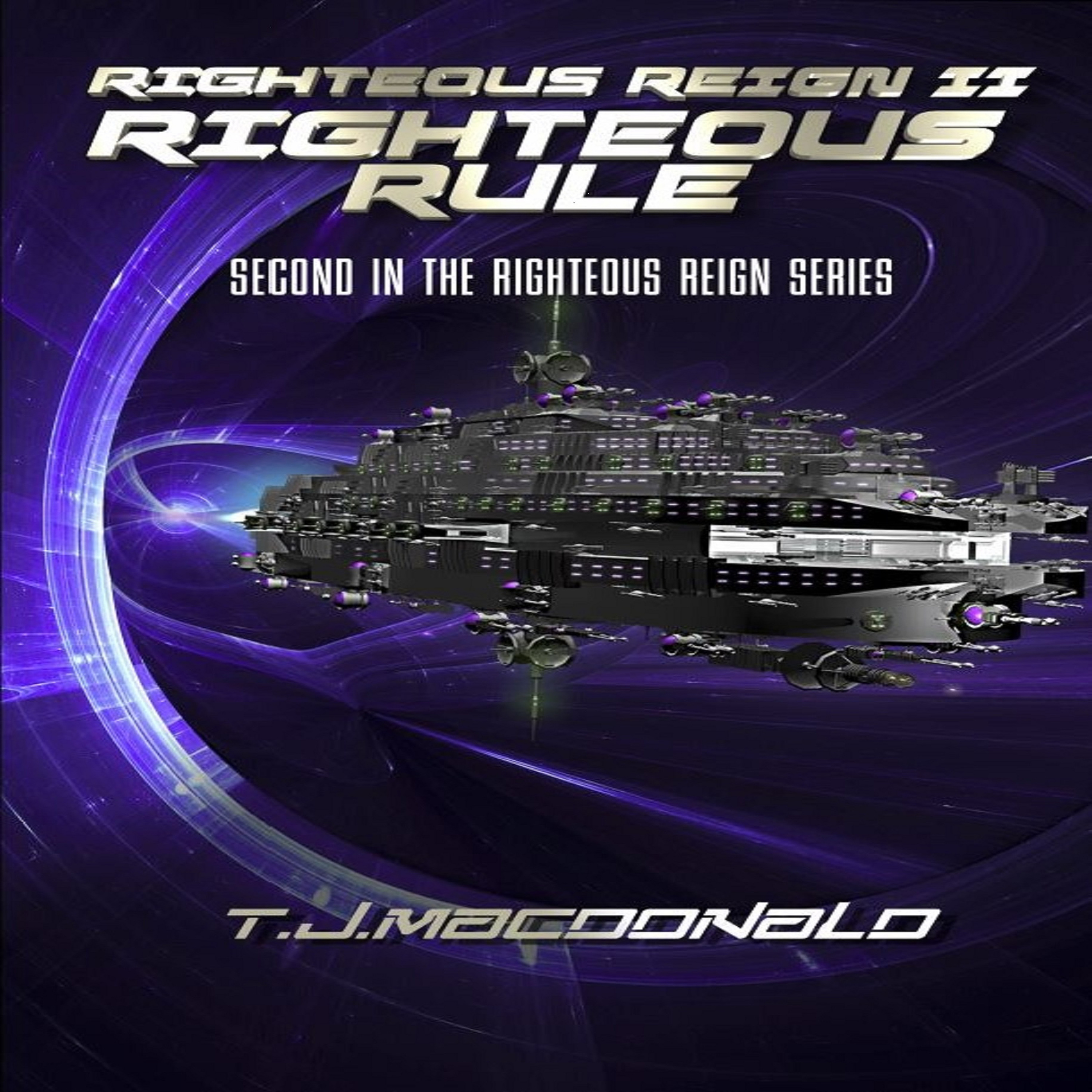 Printable Righteous Reign II - Righteous Rule Audiobook Cover Art