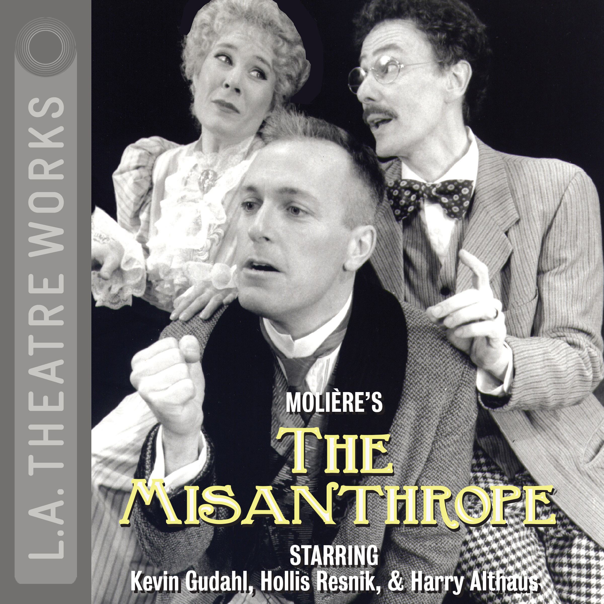 Printable The Misanthrope (1996) Audiobook Cover Art