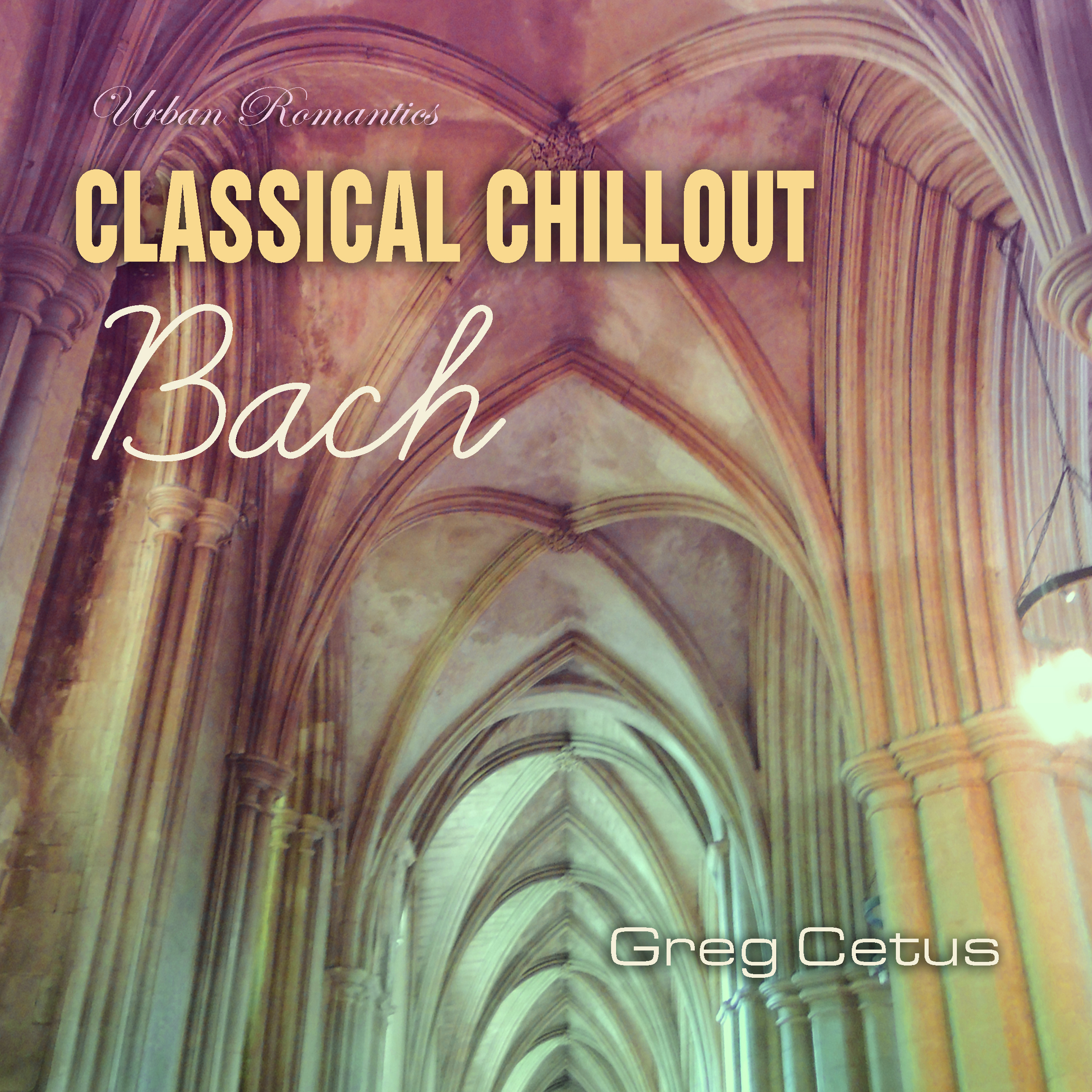 Printable Classical Chillout: Bach Audiobook Cover Art
