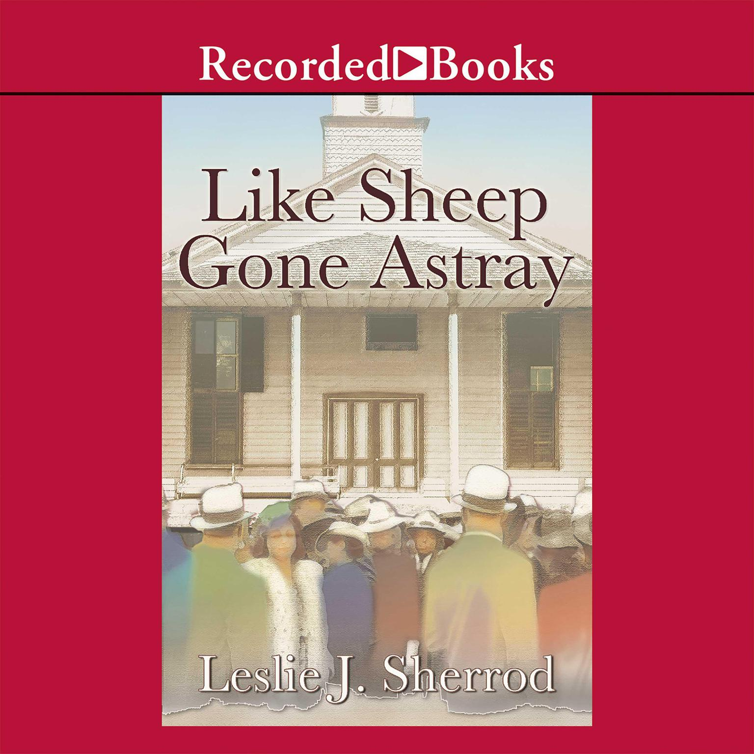 Printable Like Sheep Gone Astray Audiobook Cover Art