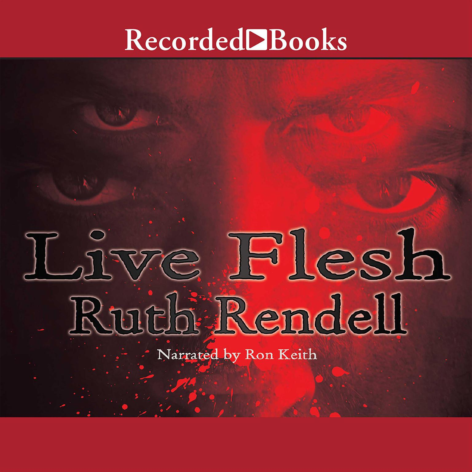 Printable Live Flesh Audiobook Cover Art