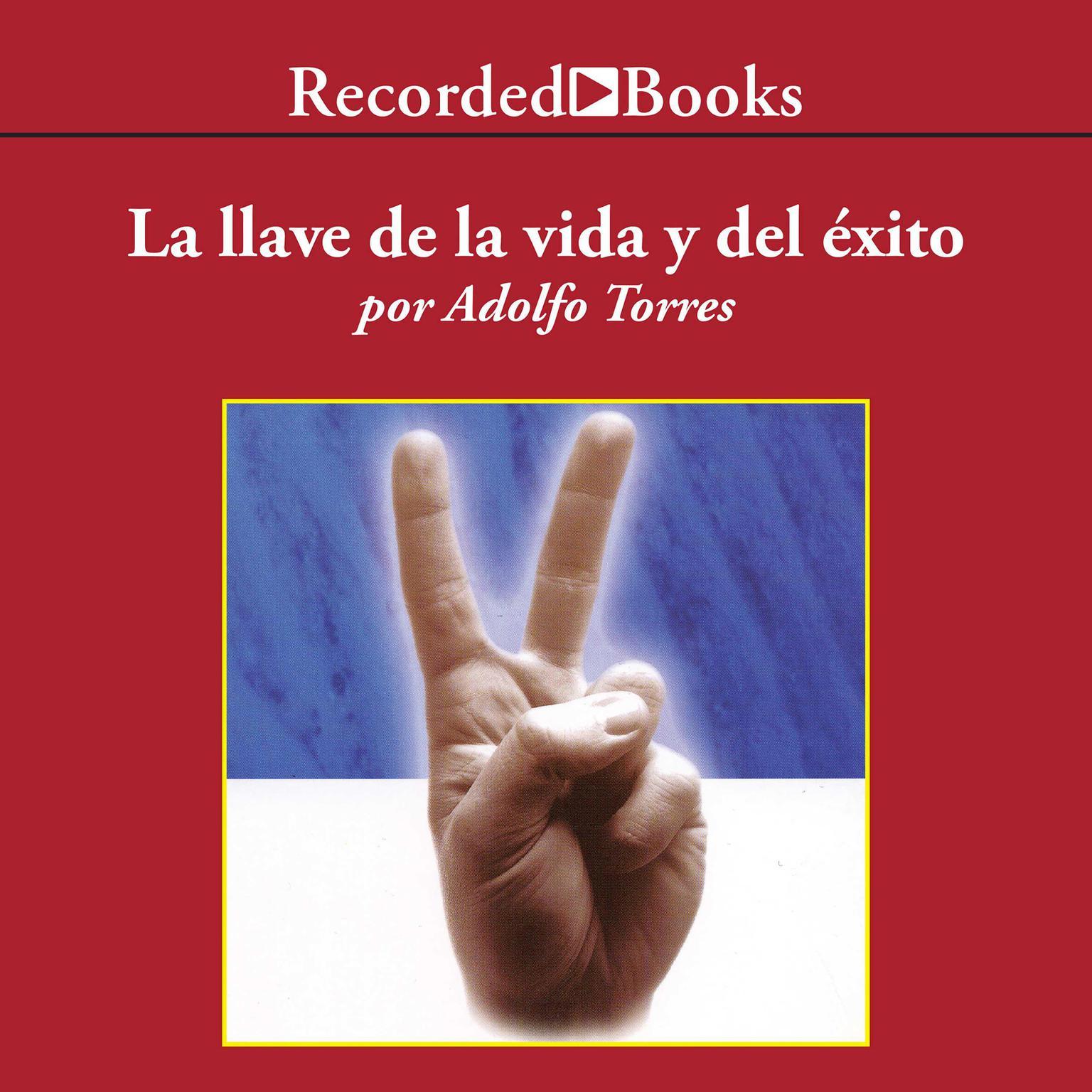 Printable La Llave de la Vida y el Exito Audiobook Cover Art