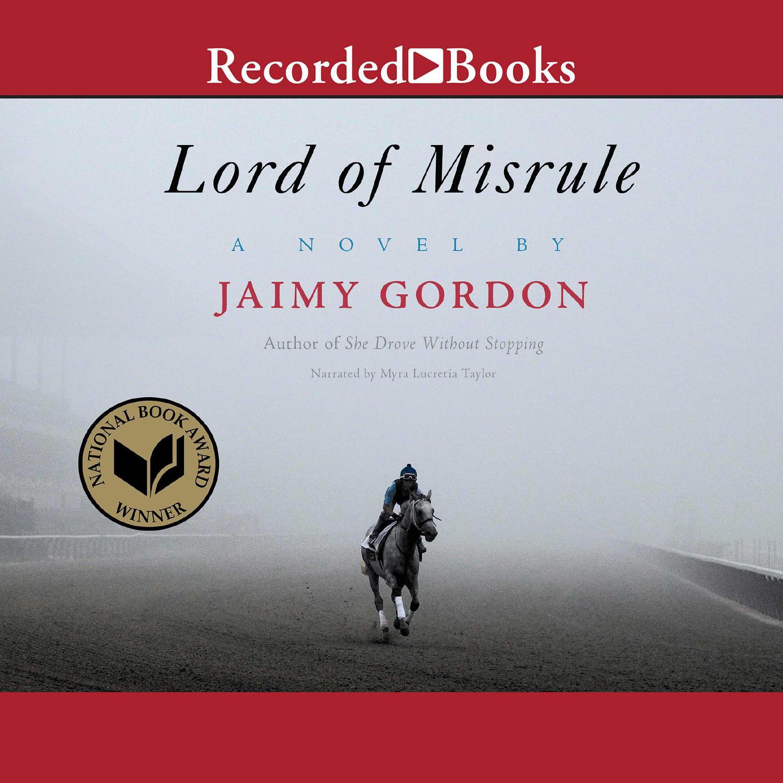 Printable Lord of Misrule Audiobook Cover Art