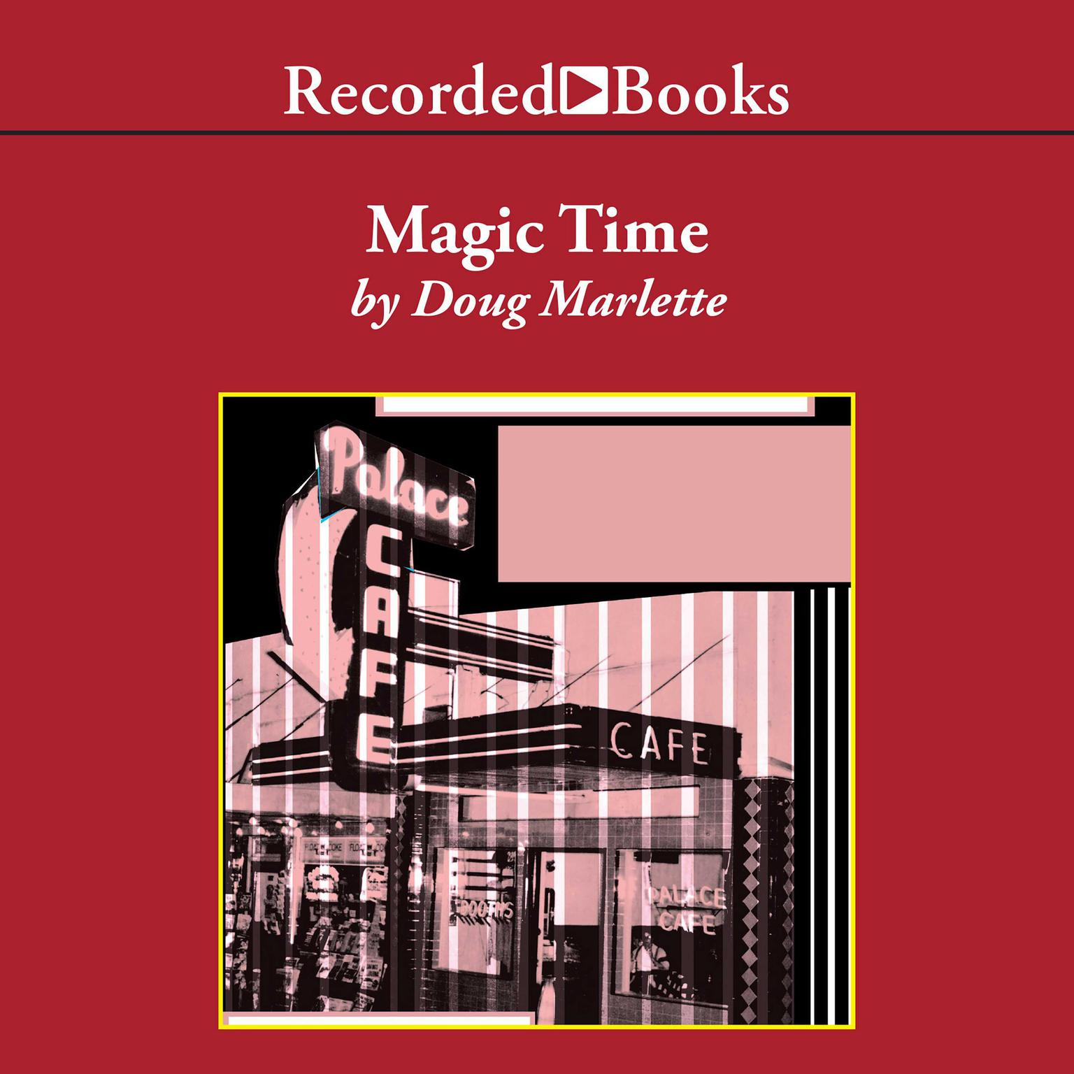 Printable Magic Time: A Novel Audiobook Cover Art