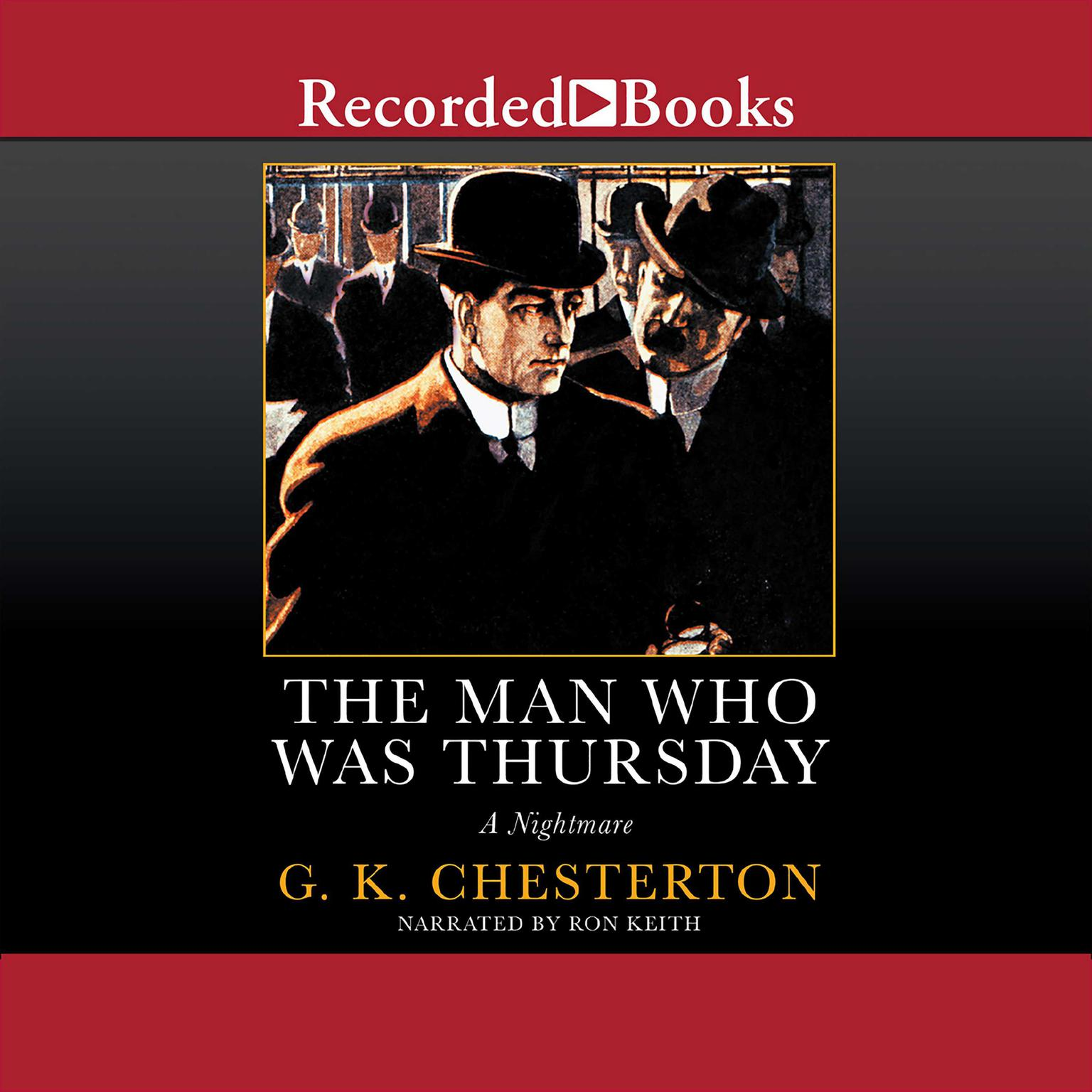 Printable The Man Who Was Thursday: A Nightmare Audiobook Cover Art