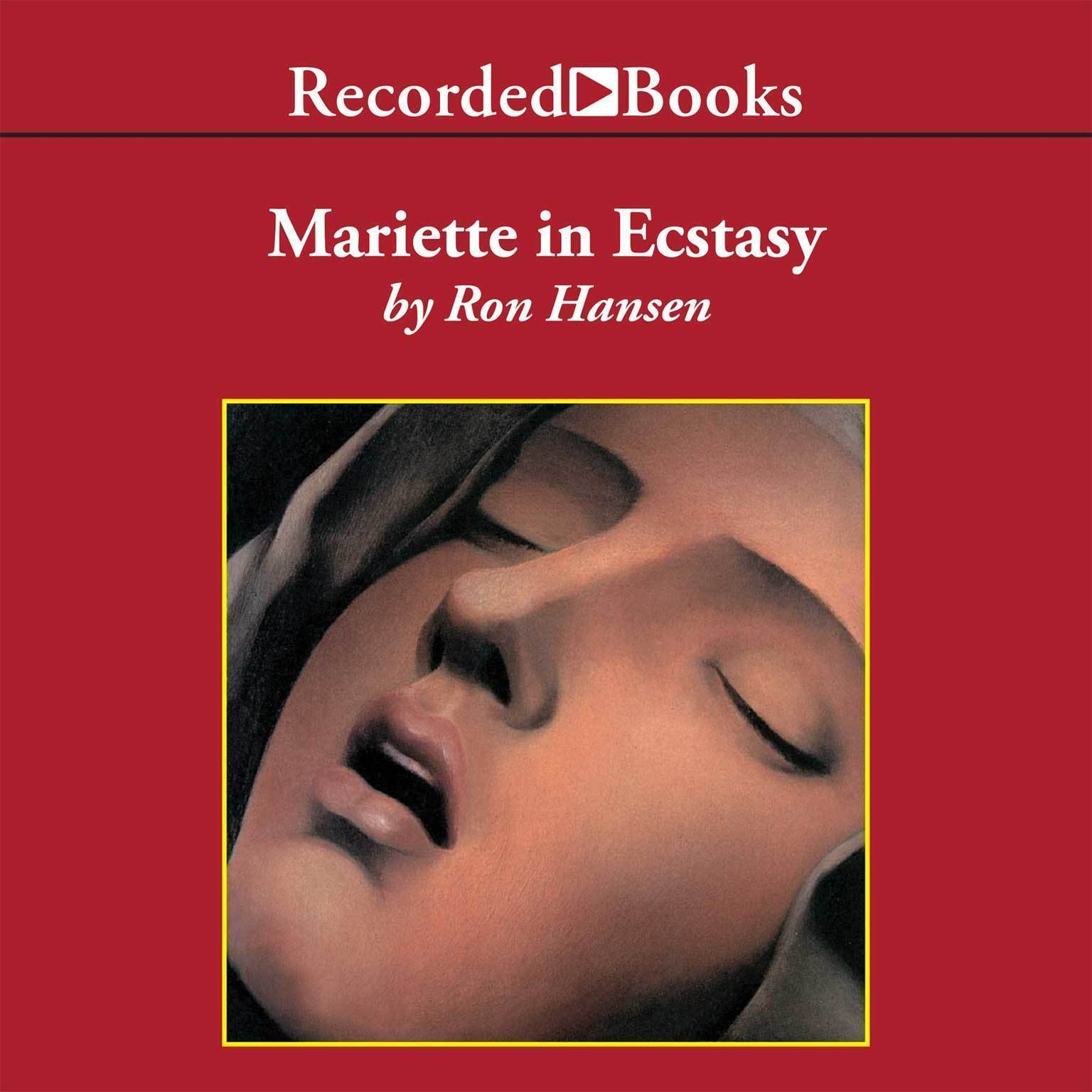 Printable Mariette in Ecstasy Audiobook Cover Art