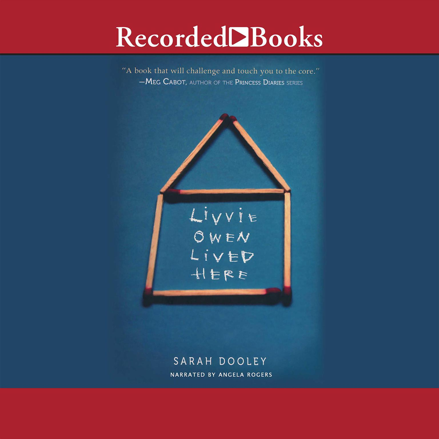 Printable Livvie Owen Lived Here Audiobook Cover Art