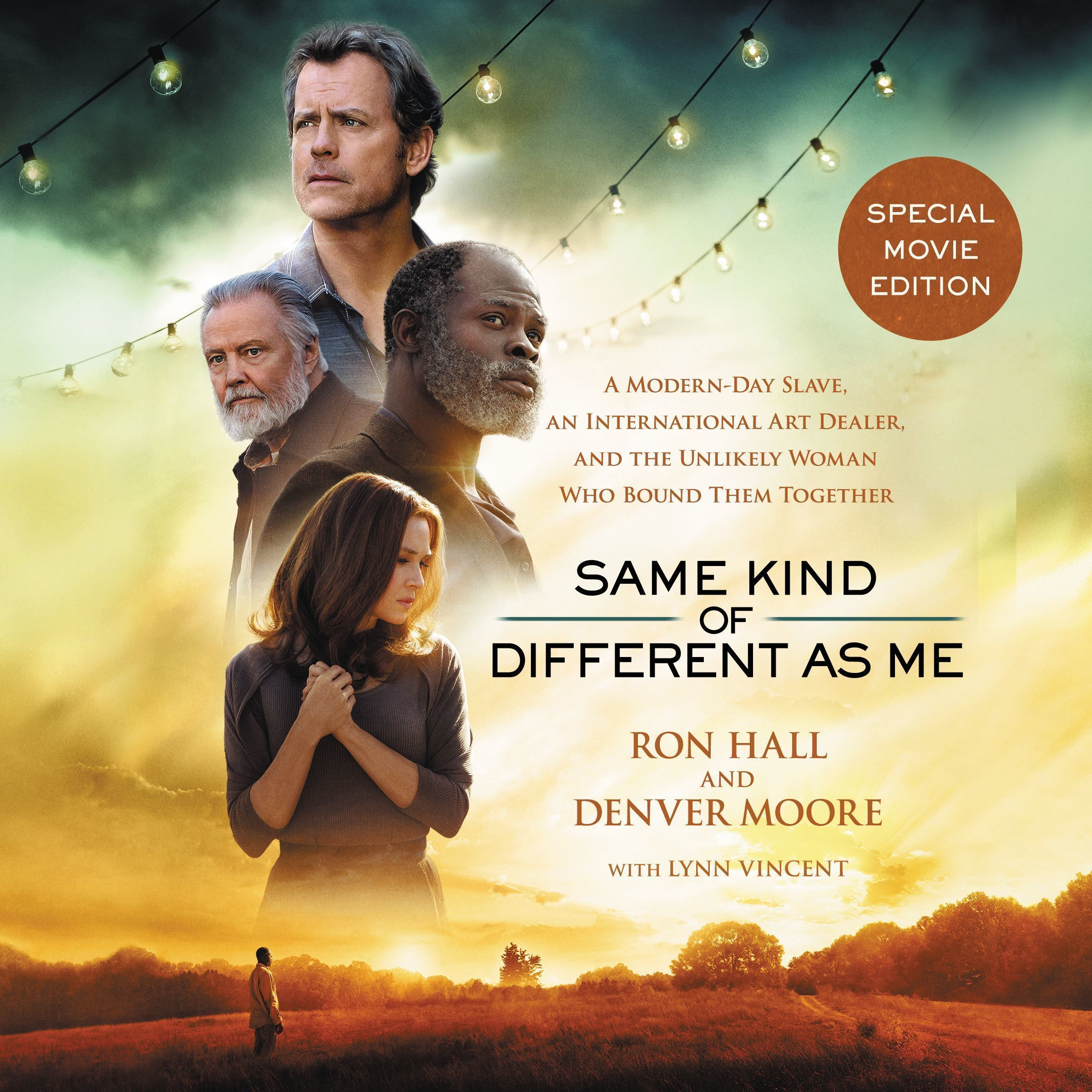 Printable Same Kind of Different As Me Movie Edition: A Modern-Day Slave, an International Art Dealer, and the Unlikely Woman Who Bound Them Together Audiobook Cover Art