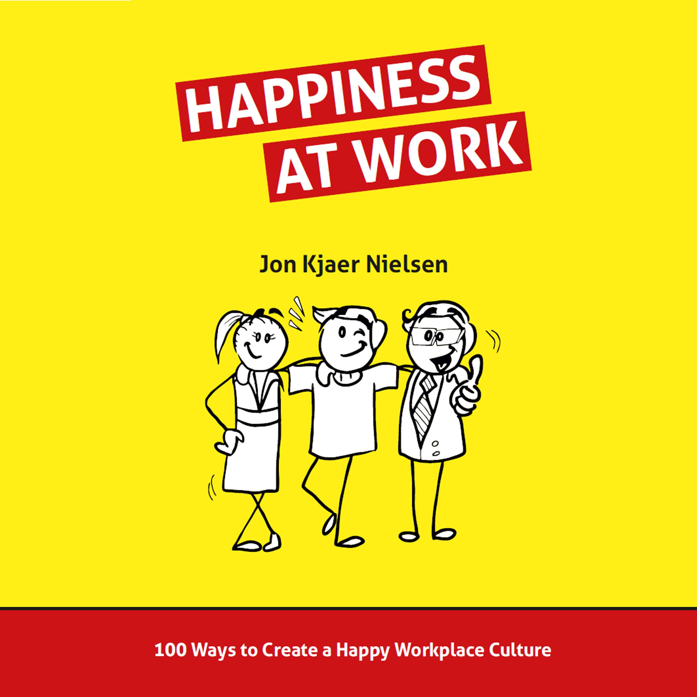 Printable Happiness at Work Audiobook Cover Art