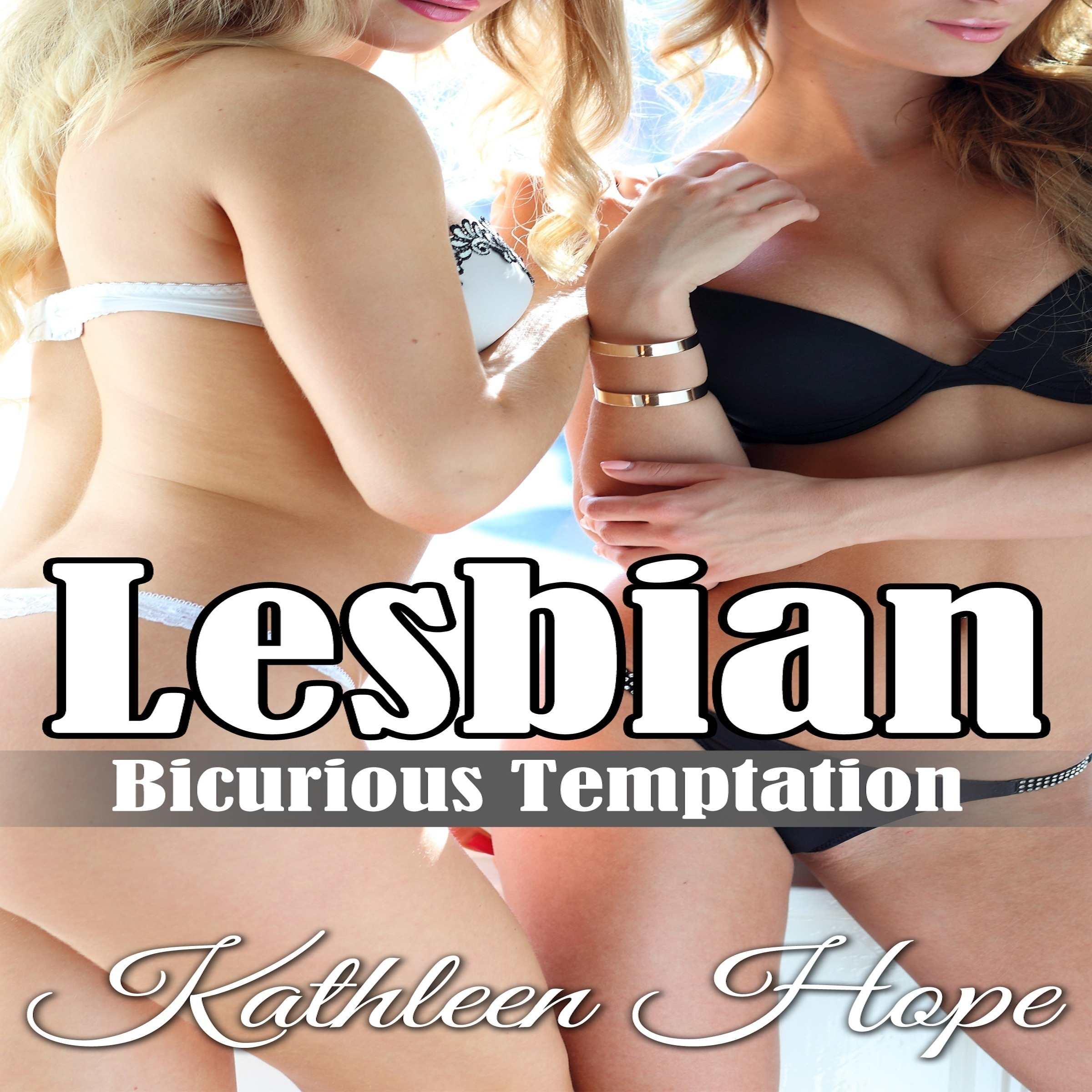 Printable Lesbian: Bicurious Temptation Audiobook Cover Art