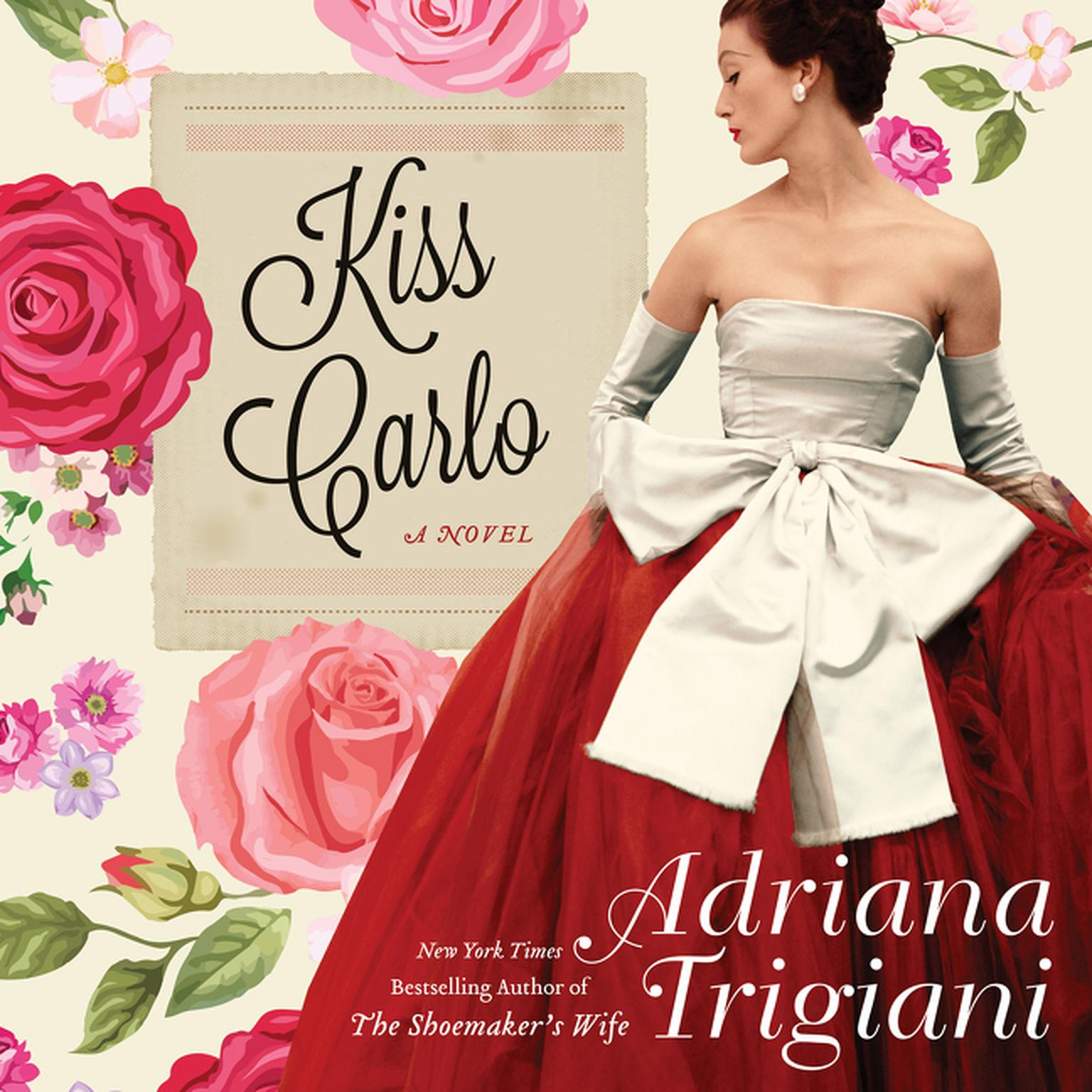 Printable Kiss Carlo Audiobook Cover Art