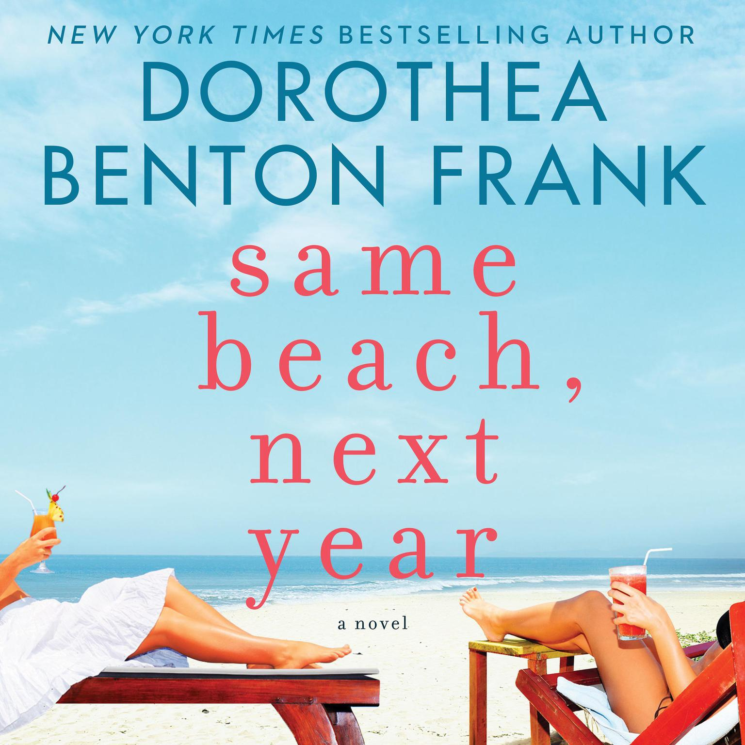 Printable Same Beach, Next Year Audiobook Cover Art