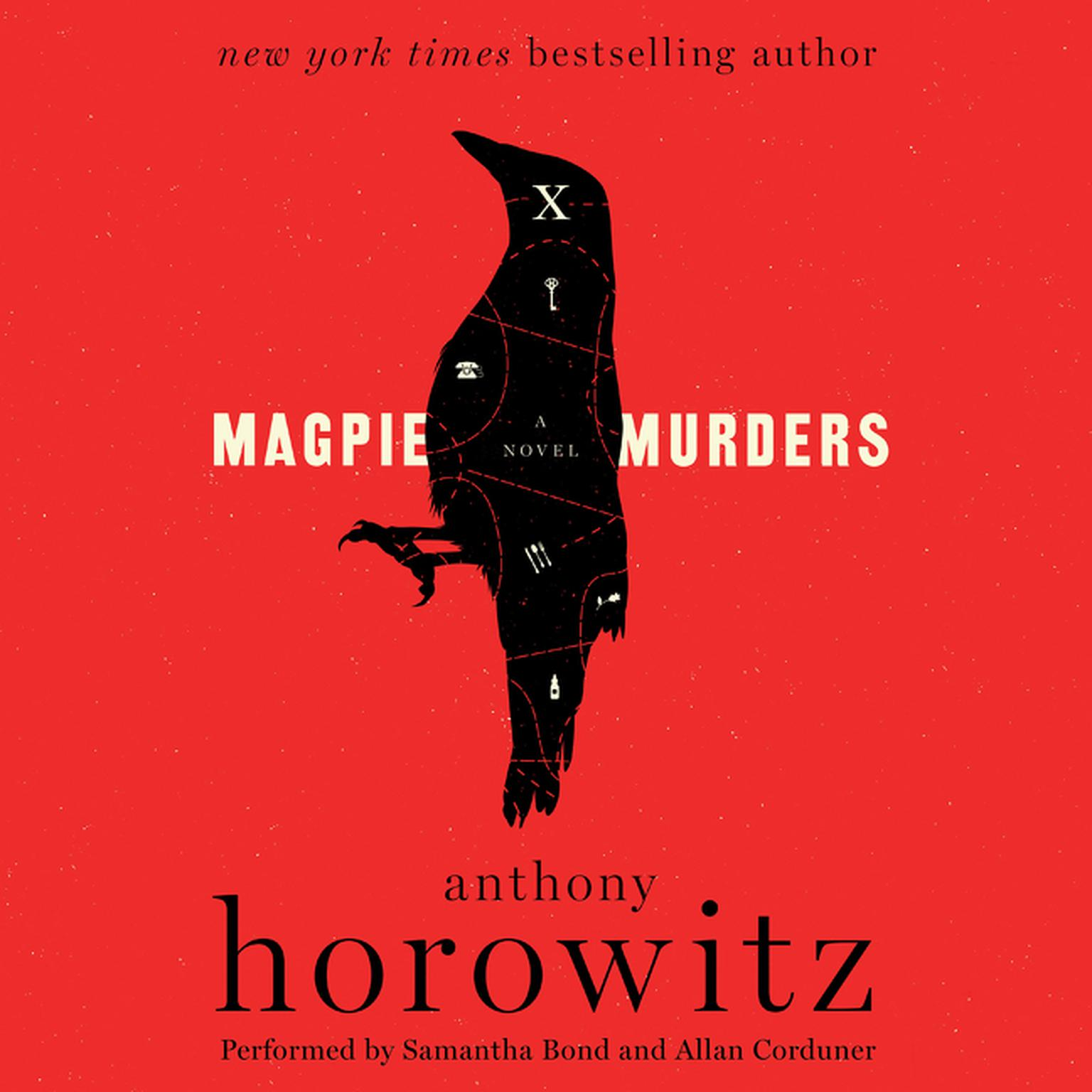 Printable Magpie Murders: A Novel Audiobook Cover Art