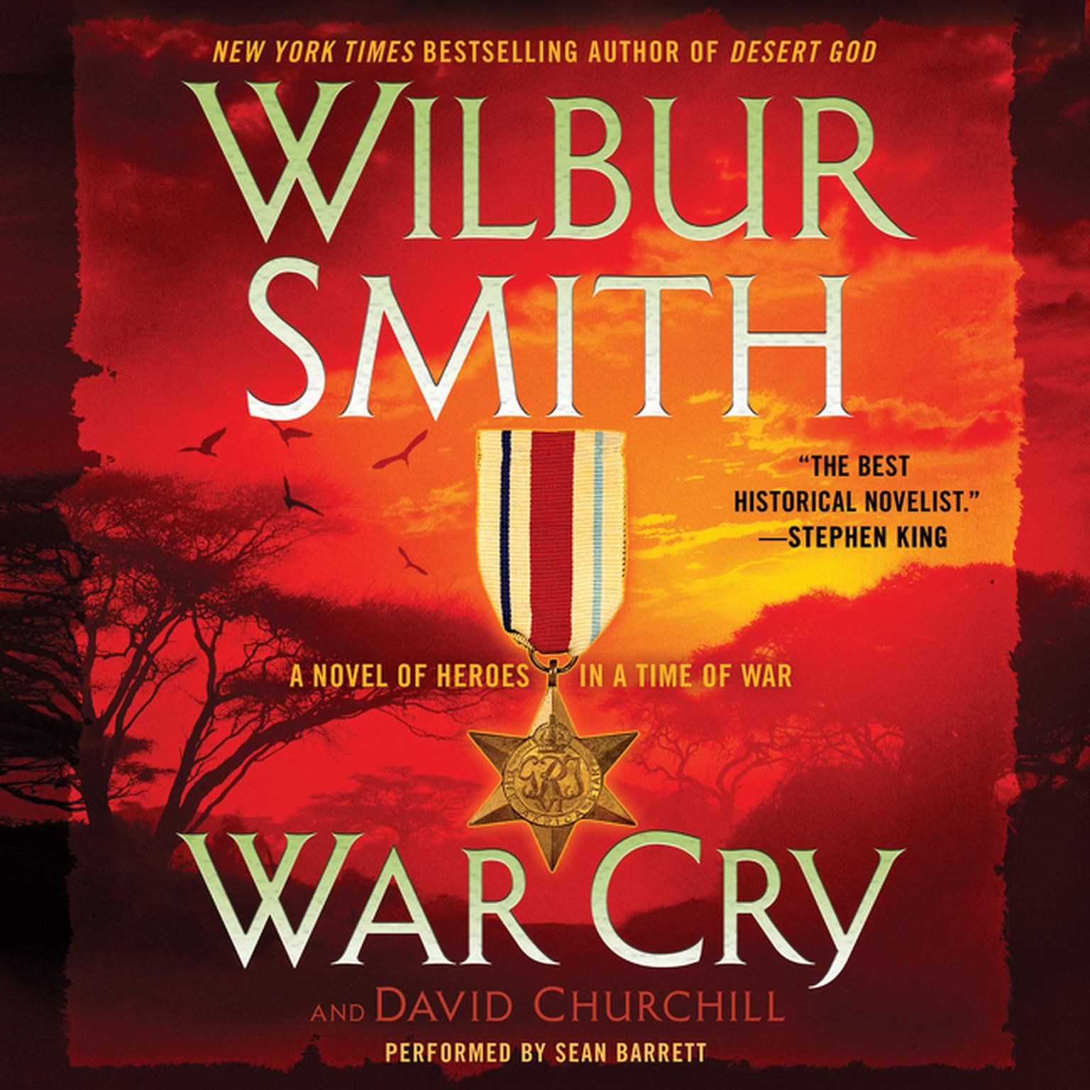 Printable War Cry: A Courtney Family Novel Audiobook Cover Art