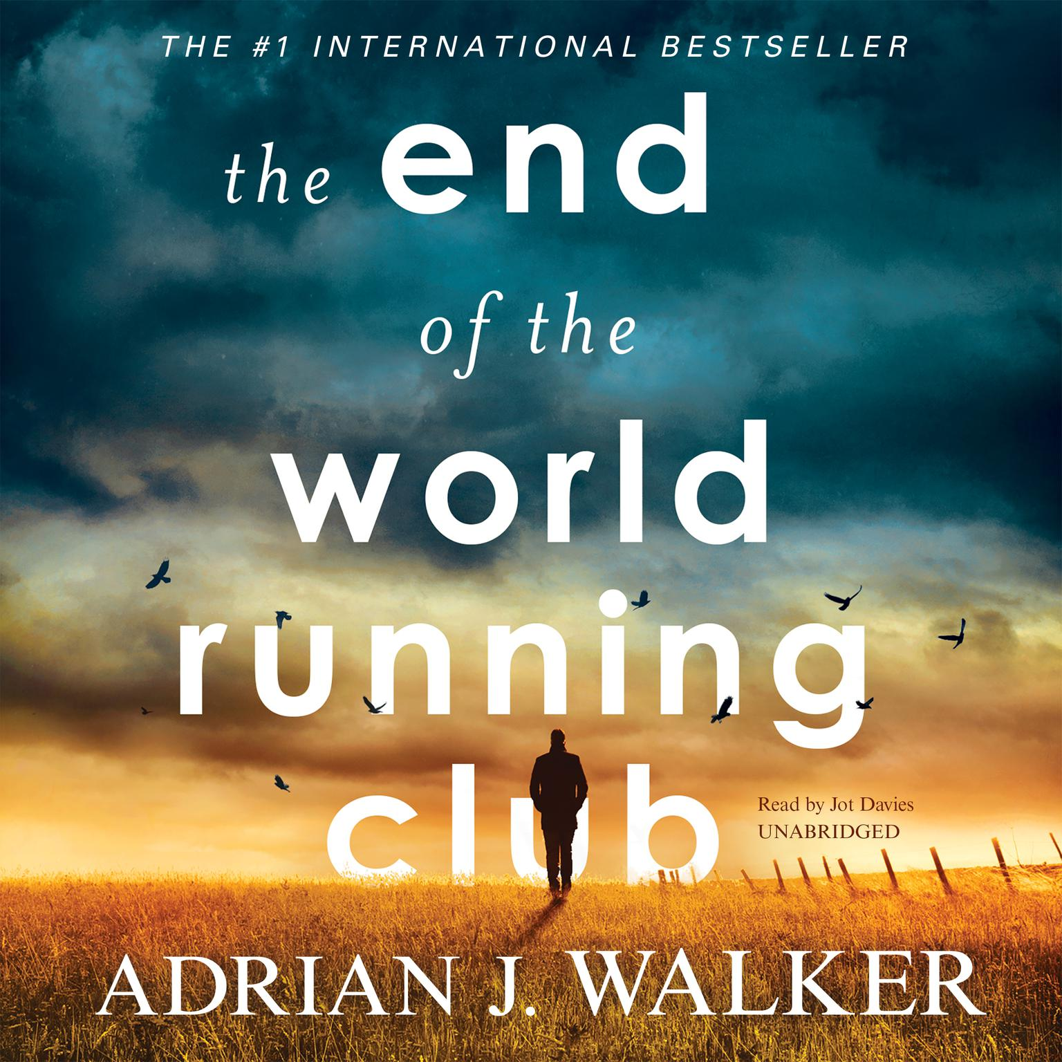 Printable The End of the World Running Club Audiobook Cover Art