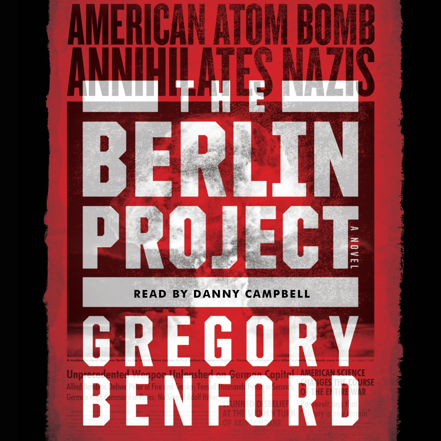 Printable The Berlin Project Audiobook Cover Art