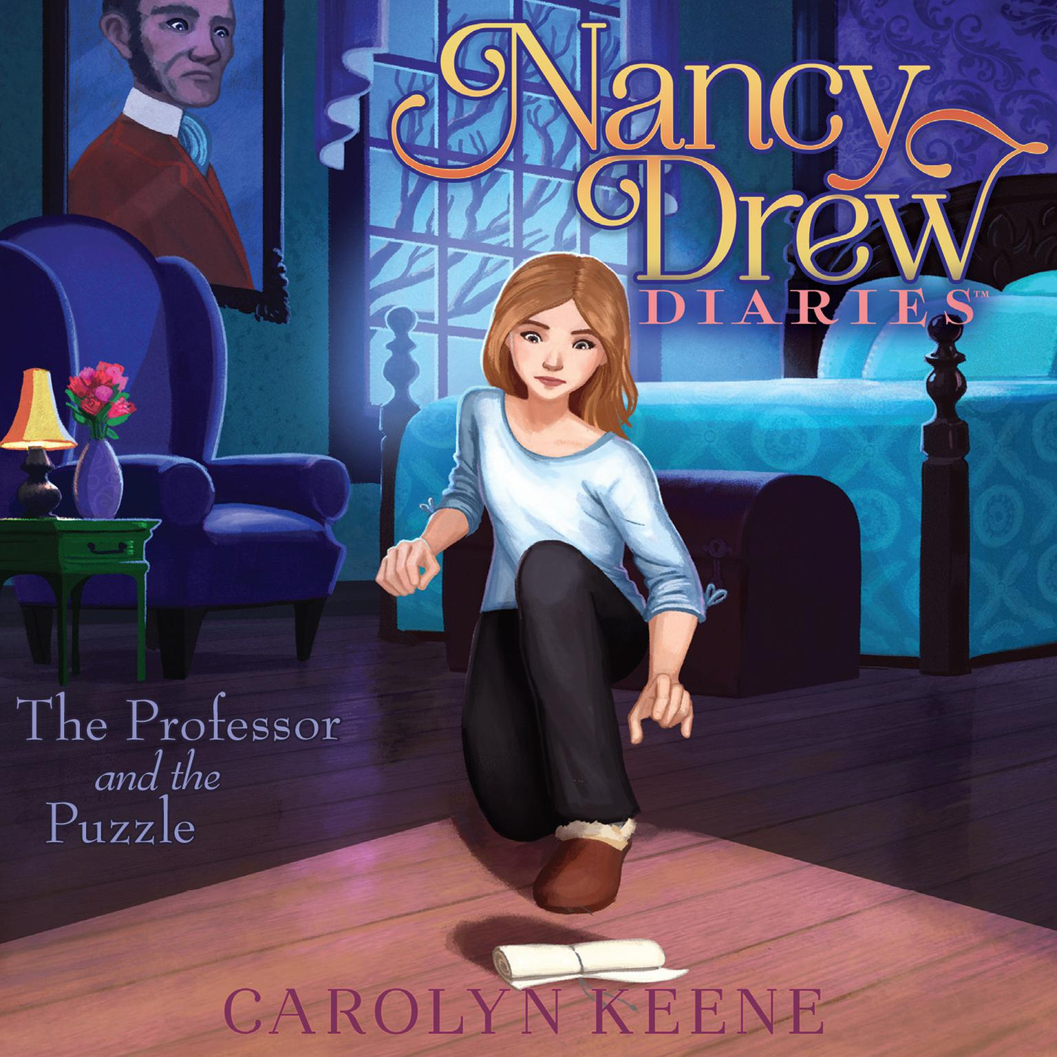 Printable The Professor and the Puzzle Audiobook Cover Art