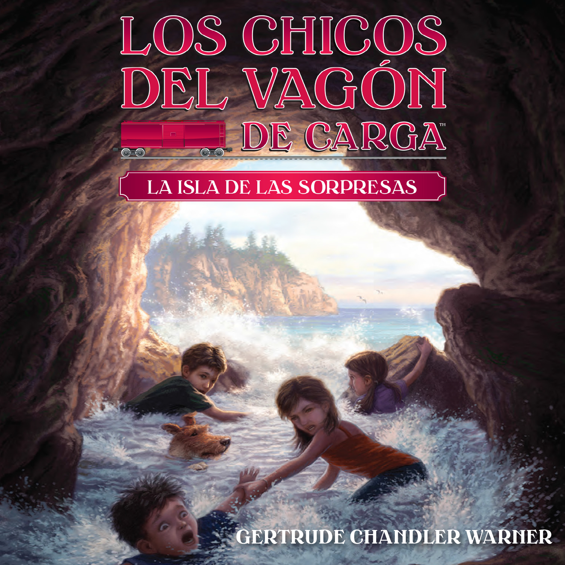 Printable La isla de las sorpresas (Spanish Edition) Audiobook Cover Art
