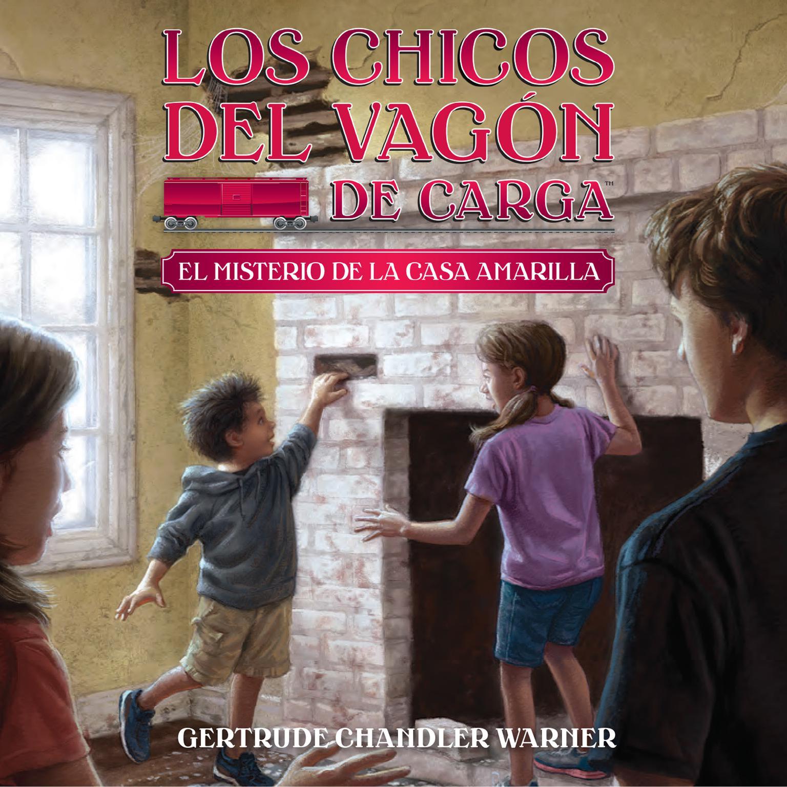 Printable El misterio de la casa amarilla (Spanish Edition) Audiobook Cover Art