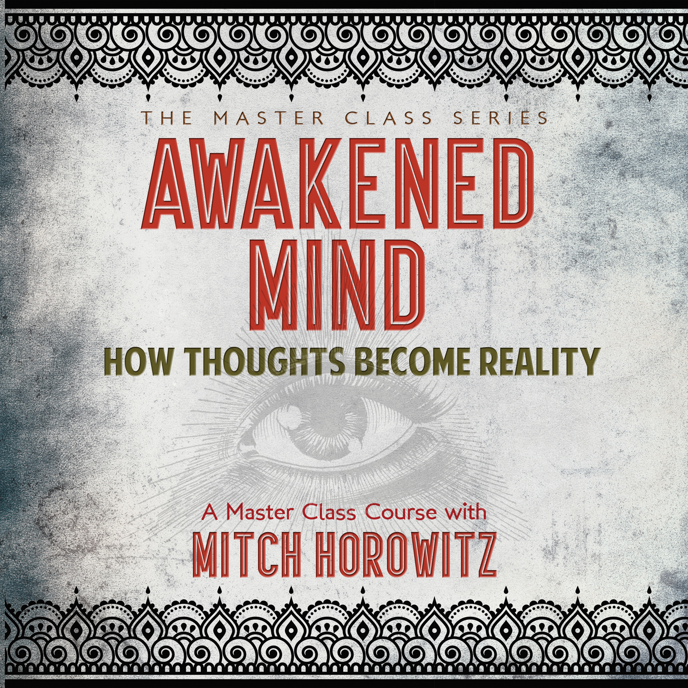 Printable Awakened Mind: How Thoughts Become Reality Audiobook Cover Art