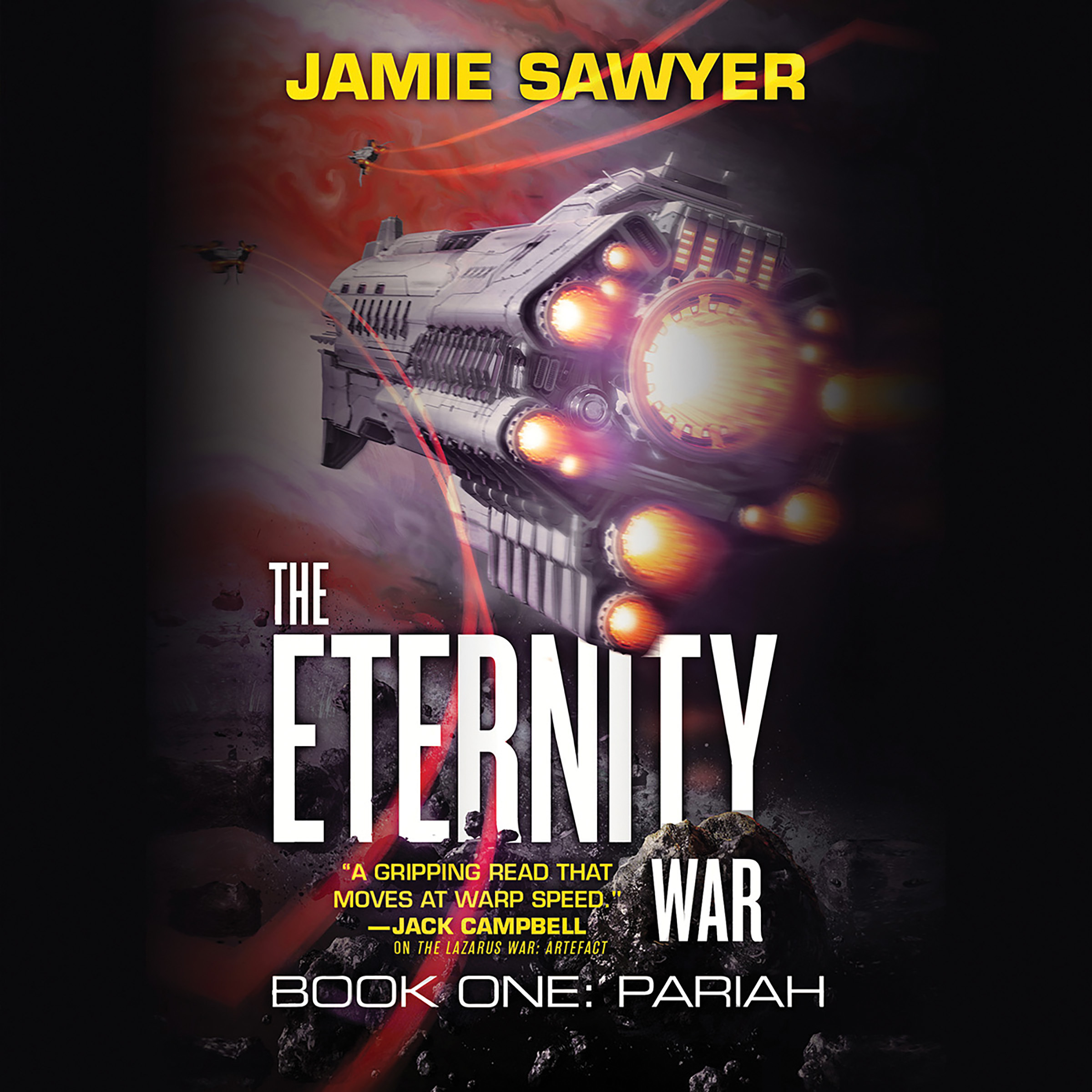 Printable The Eternity War: Pariah Audiobook Cover Art