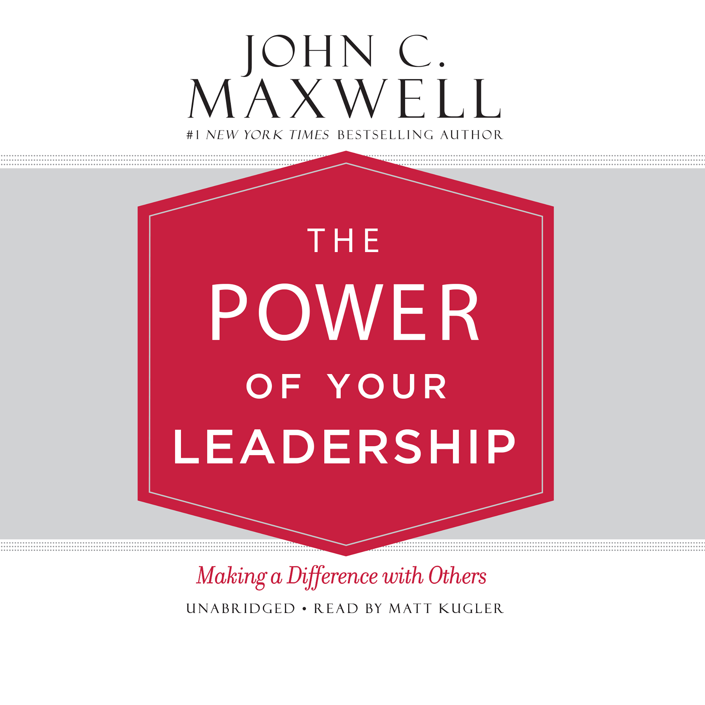 Printable The Power of Your Leadership: Making a Difference with Others Audiobook Cover Art