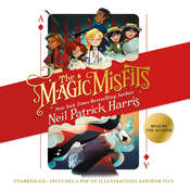 The Magic Misfits Audiobook, by Neil Patrick Harris, Alec Azam