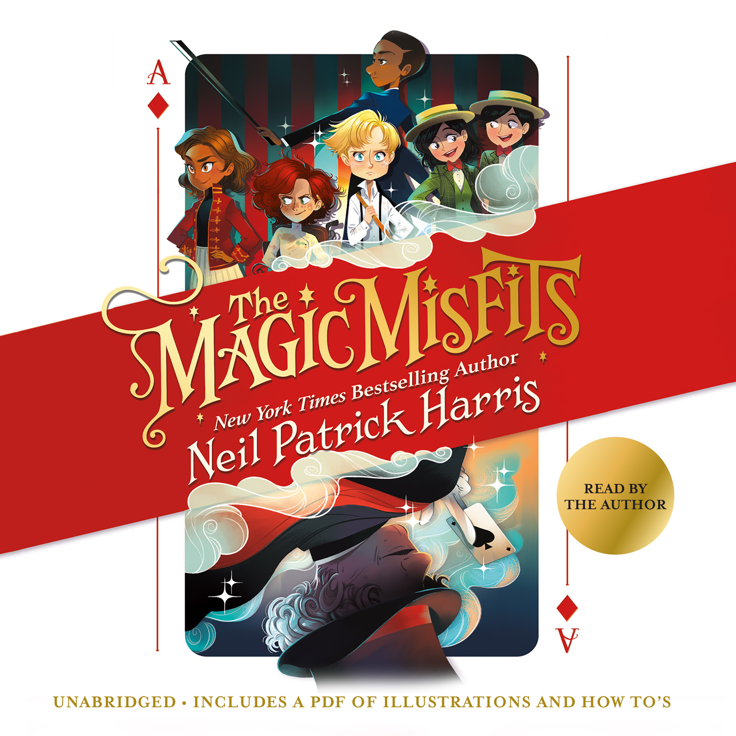 Printable The Magic Misfits Audiobook Cover Art