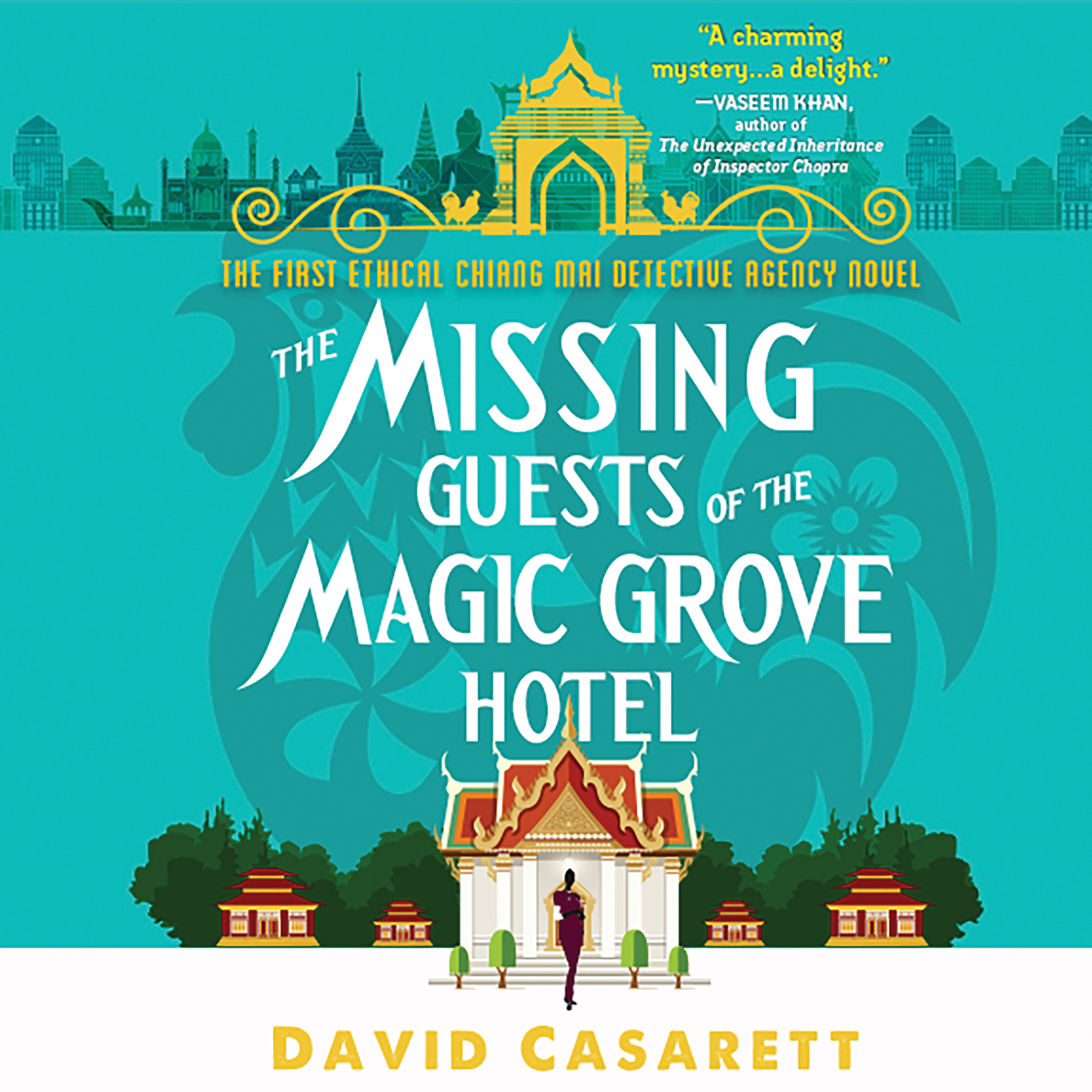 Printable The Missing Guests of the Magic Grove Hotel Audiobook Cover Art