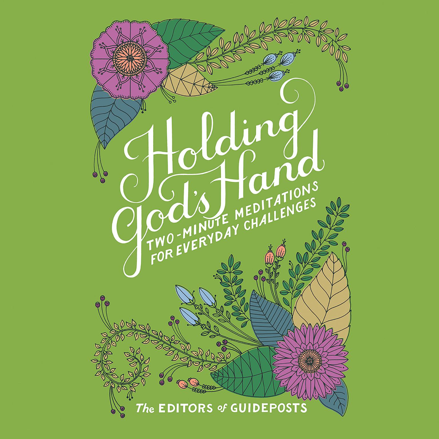 Printable Holding God's Hand: Two-Minute Meditations for Everyday Challenges Audiobook Cover Art