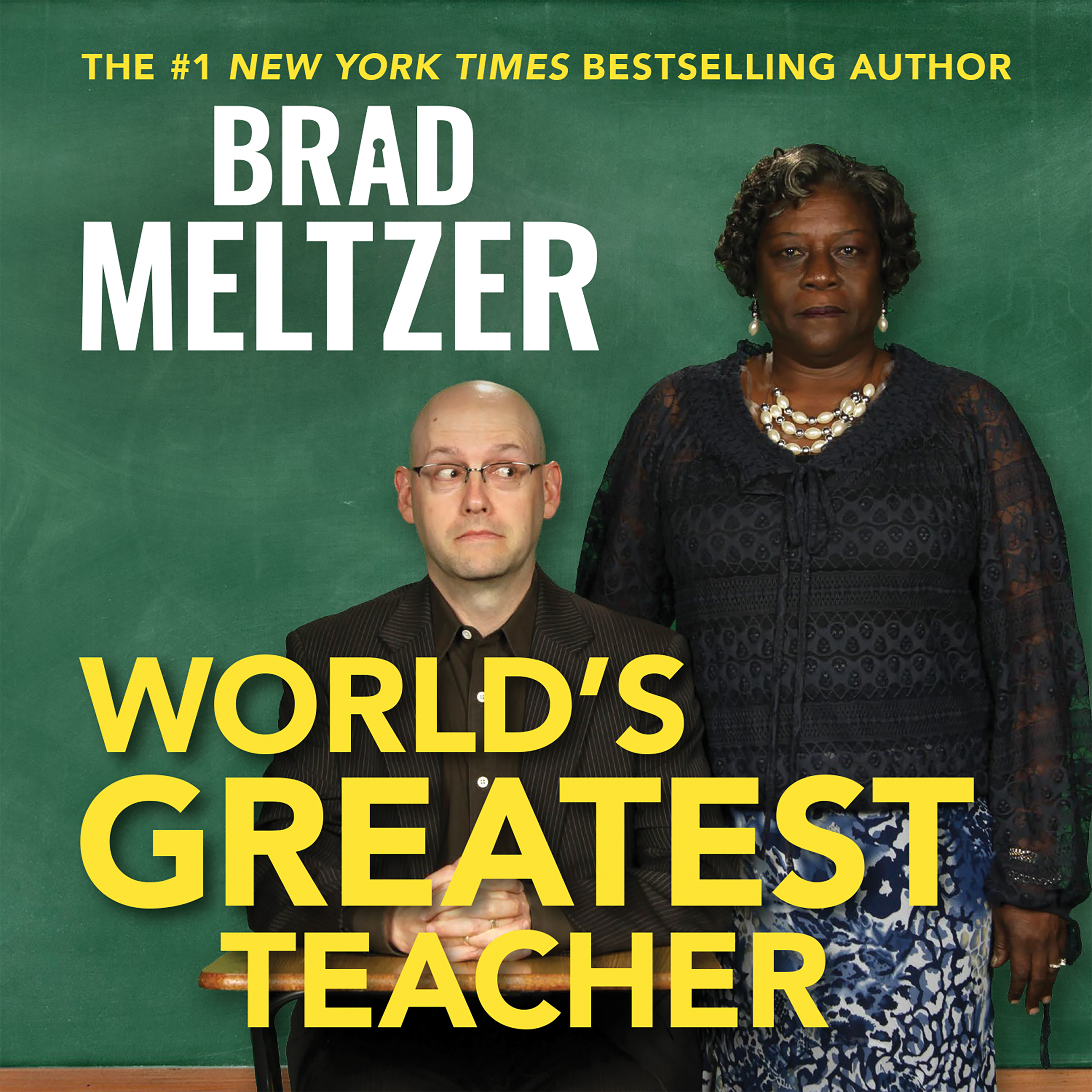 Printable World's Greatest Teacher Audiobook Cover Art